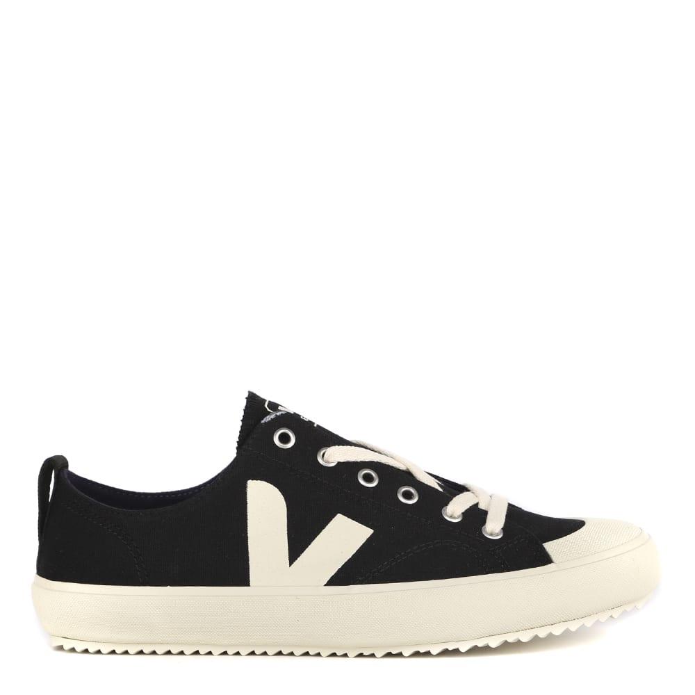 Veja Black Cotton Nova Sneakers