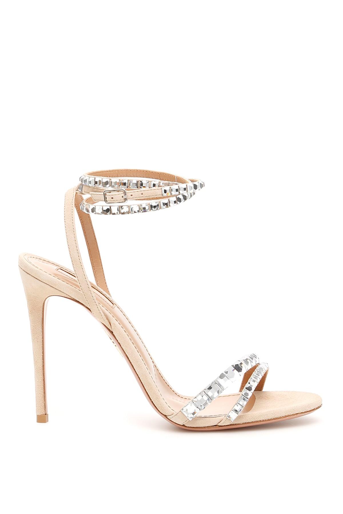 8b7bb8379 Aquazzura Aquazzura Vera 105 Sandals - NUDE (Beige) - 10987612 | italist