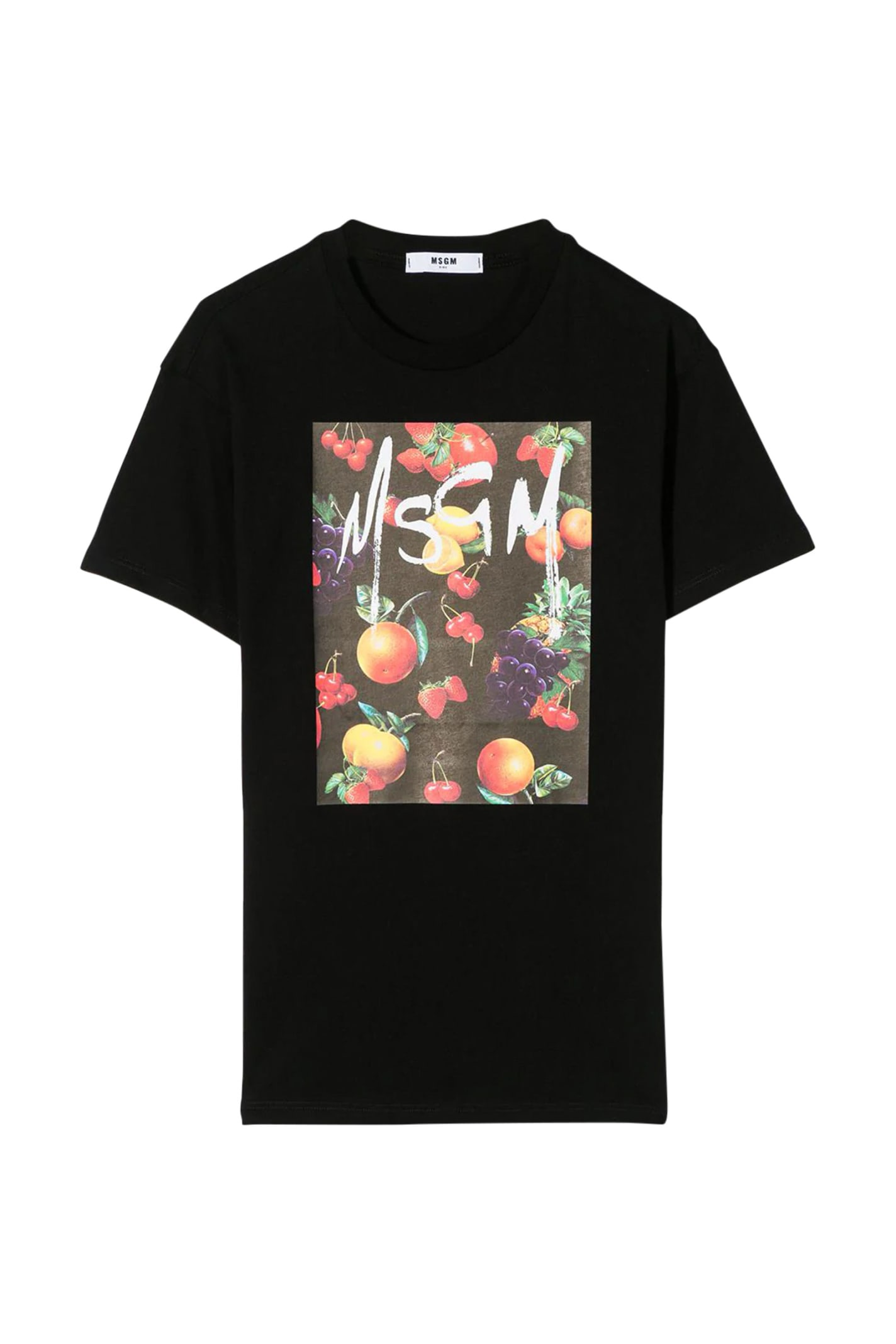 Buy T-shirt Type Dress With Print online, shop MSGM with free shipping