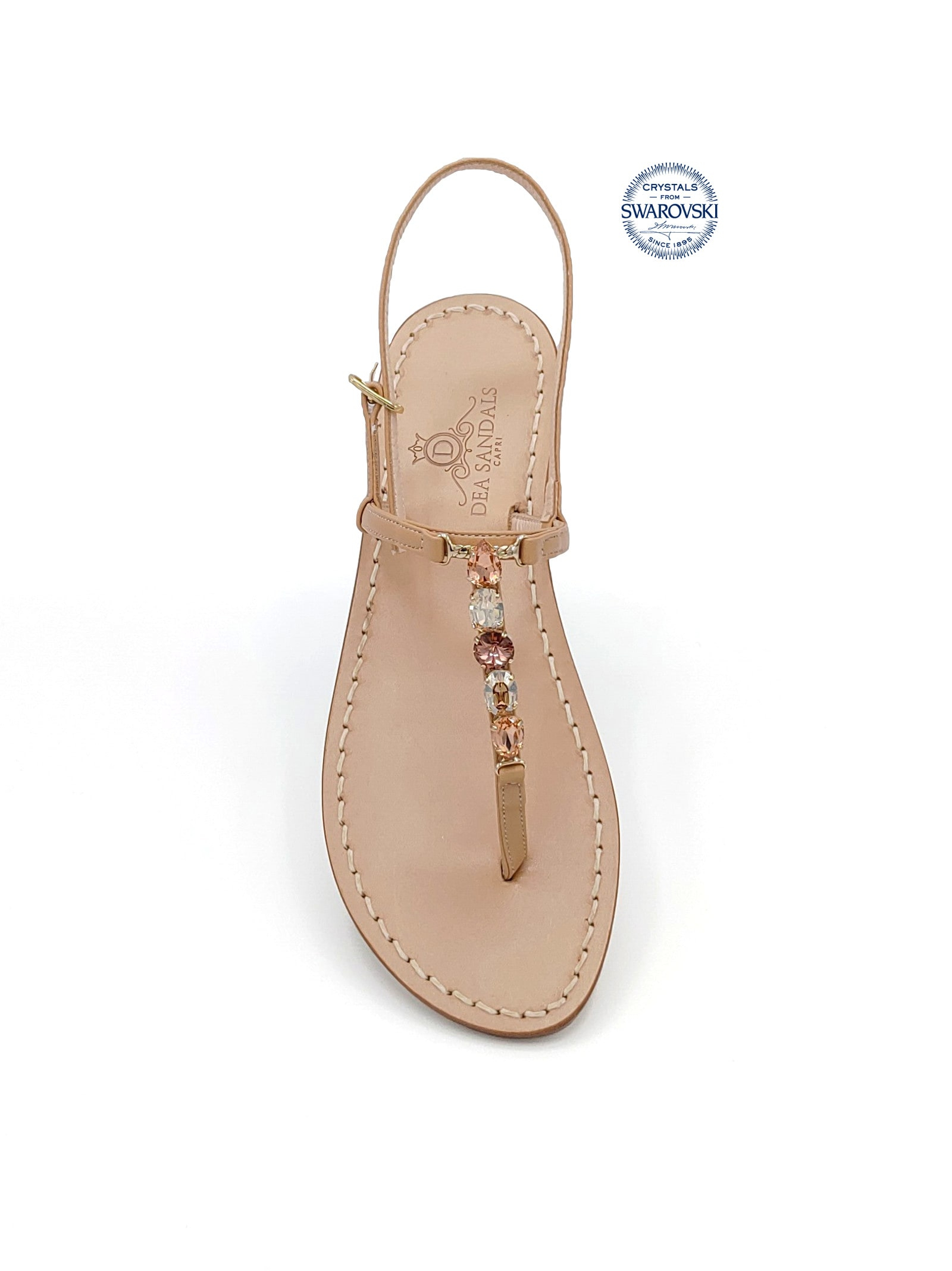 Punta Carena Jewel Flip Flops Sandals