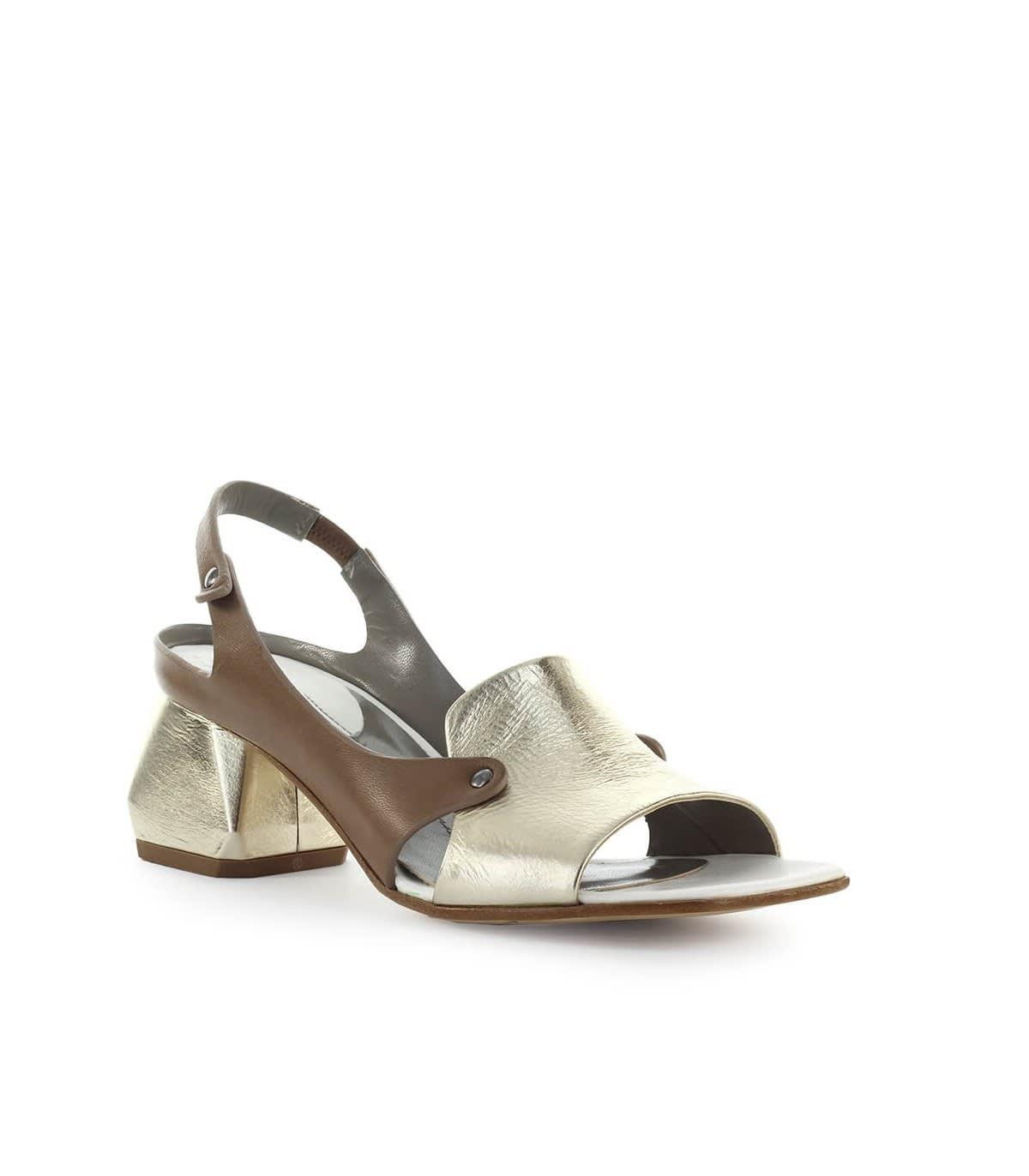 IXOS Ixos Gold Dove grey Heeled Sandal Oro Tortora