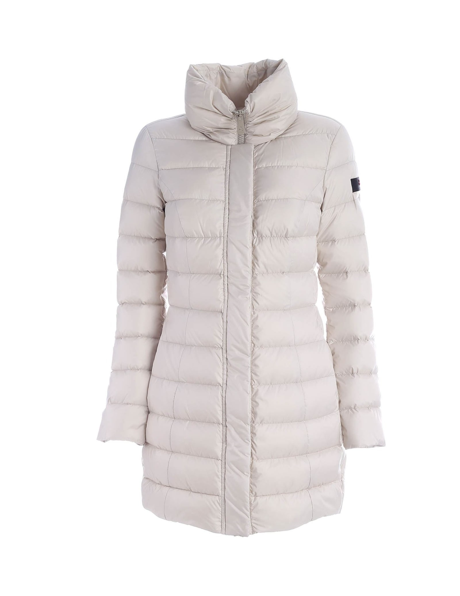 Peuterey Sobchak Down Jacket With High Neck Beige Color