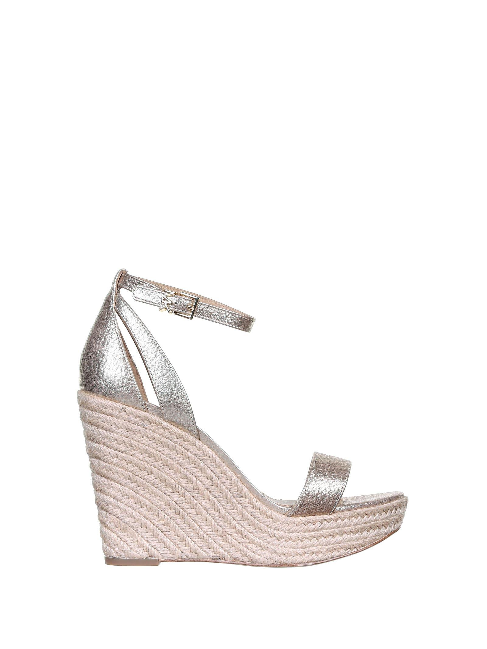 Buy MICHAEL Michael Kors Kimberly Sandals online, shop MICHAEL Michael Kors shoes with free shipping
