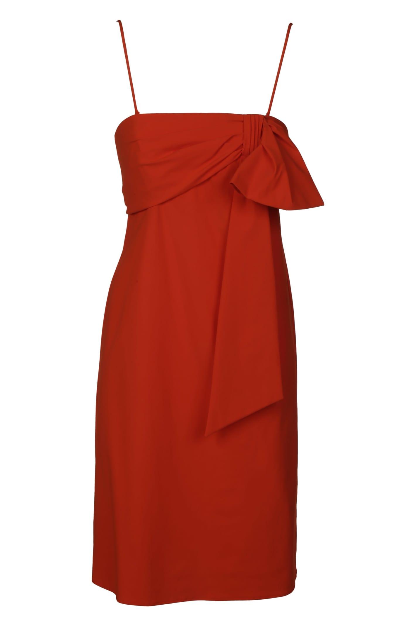 Buy Dondup Draped Back-zip Dress online, shop Dondup with free shipping