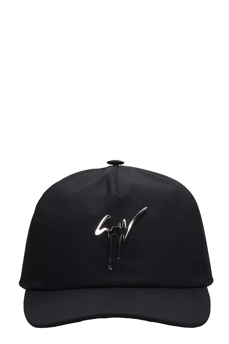 Giuseppe Zanotti HATS IN BLACK TECH/SYNTHETIC