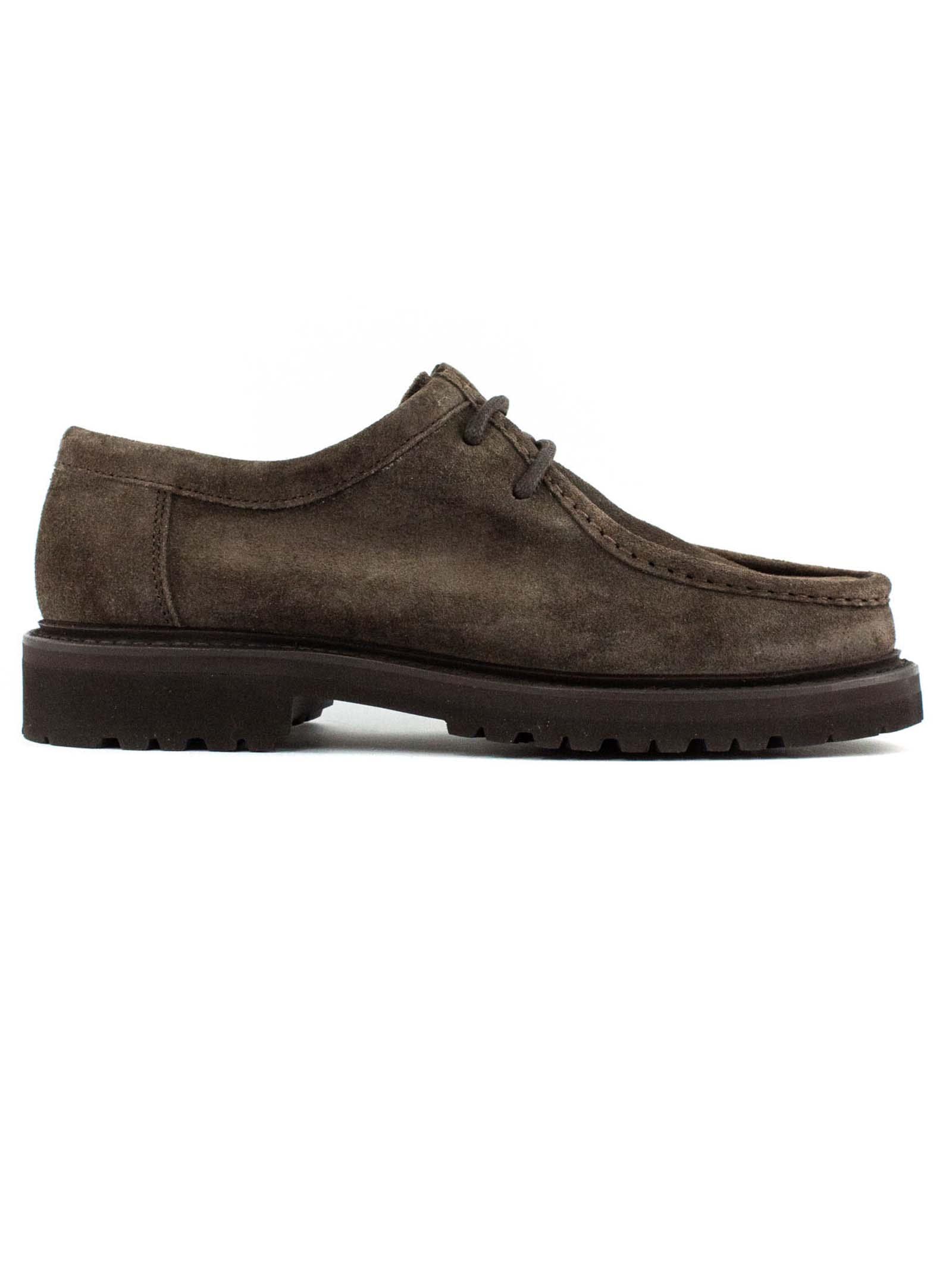1707 Desert Boots In Brown Suede