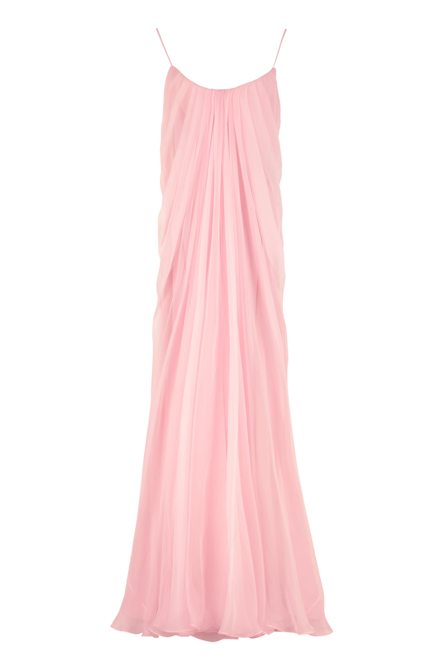 Alexander McQueen Draped Long Dress