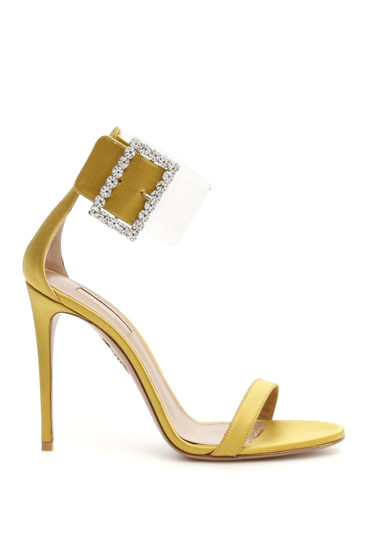 Aquazzura Casablanca Strass Sandals 105