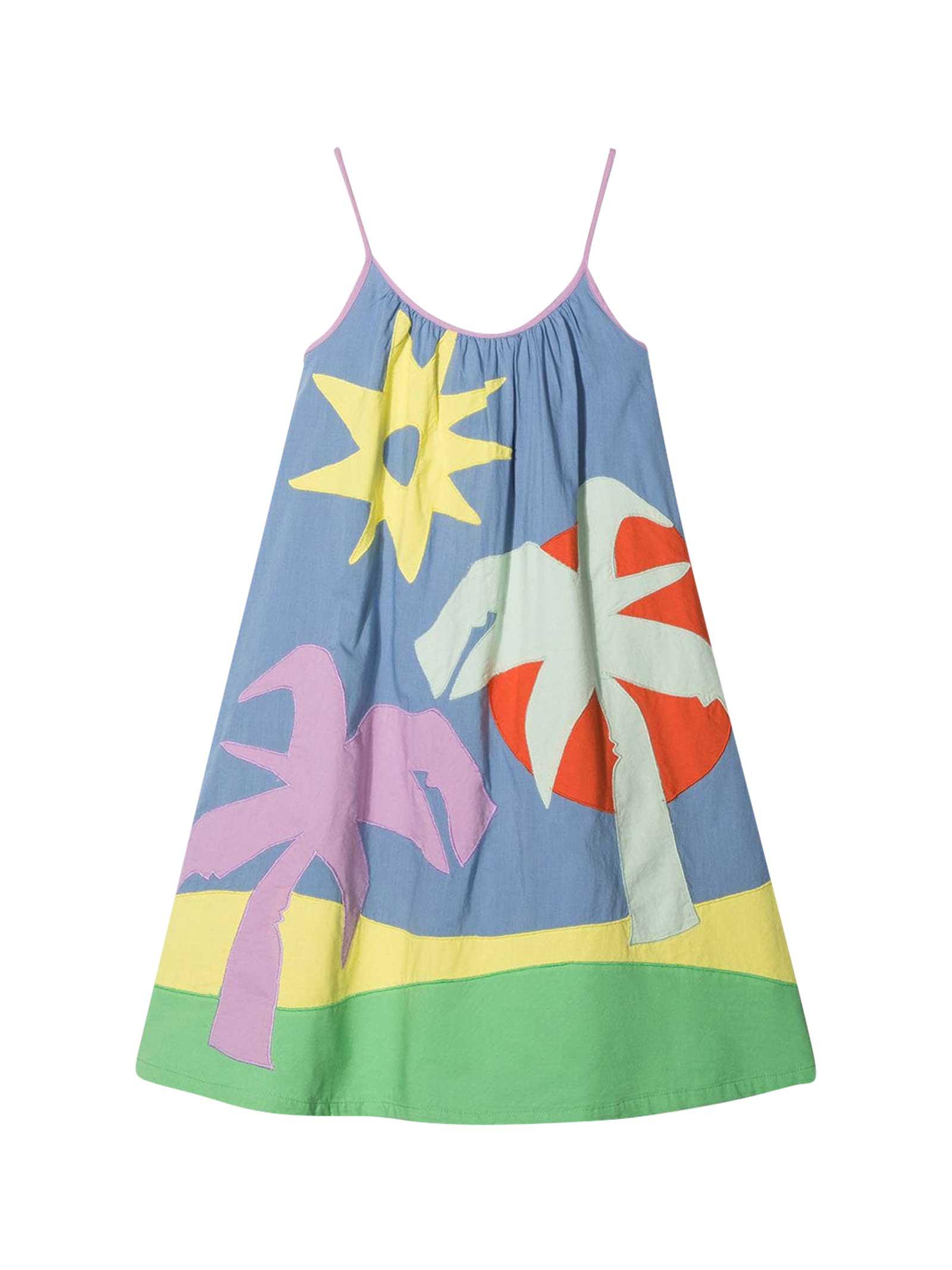 Buy Stella McCartney Kids Multicolor Teen Dress online, shop Stella McCartney Kids with free shipping