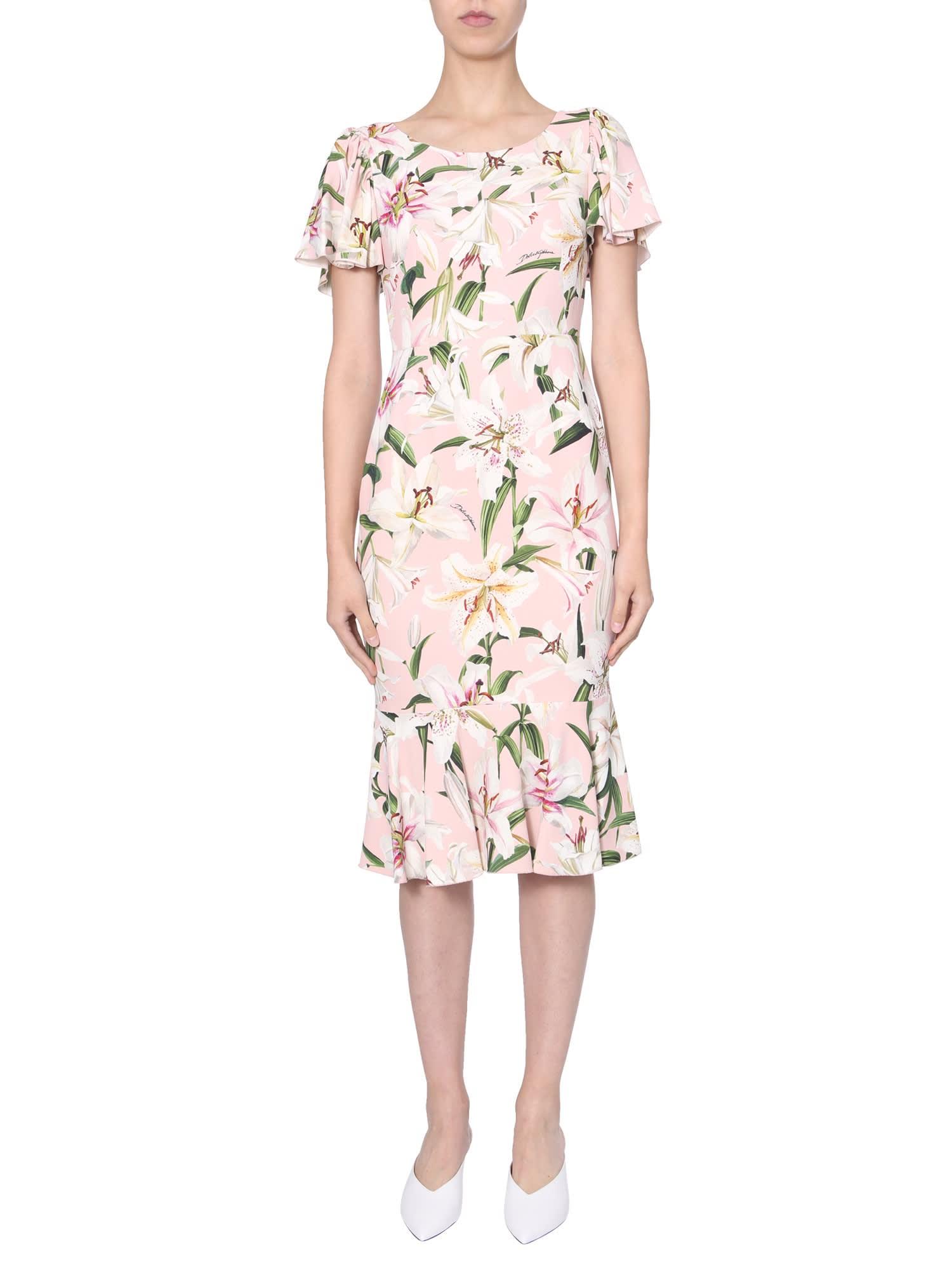 Photo of  Dolce & Gabbana Longuette Dress- shop Dolce & Gabbana  online sales