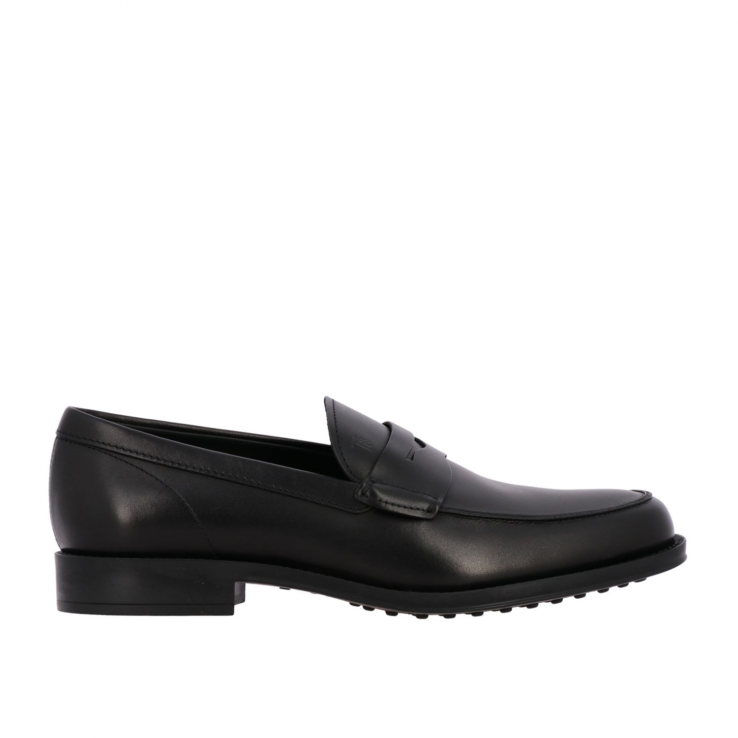 Loafers Tods Loafer In Leather With SleeperComposition: 100% La