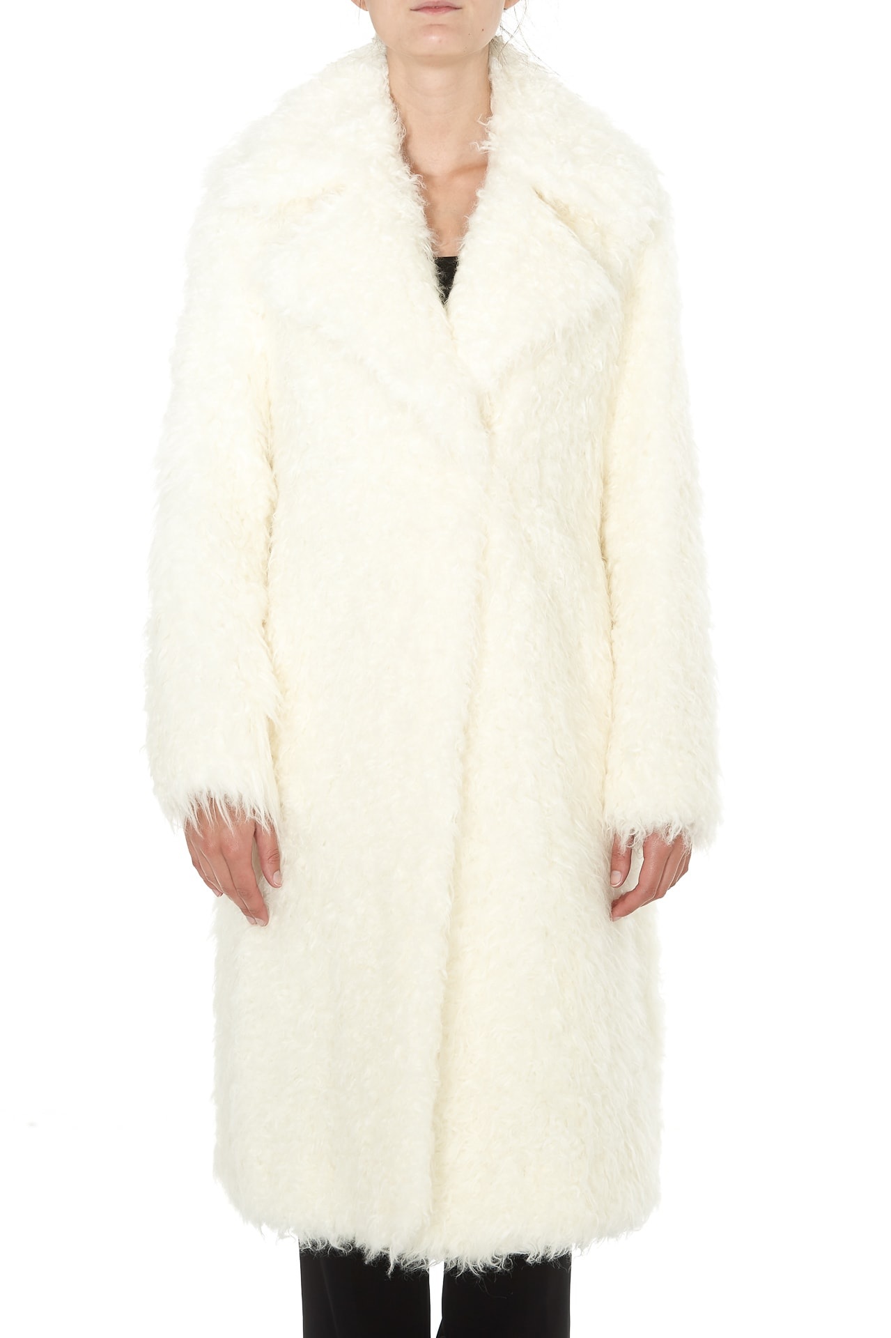 Michael Michael Kors Long Eco Fur Coat