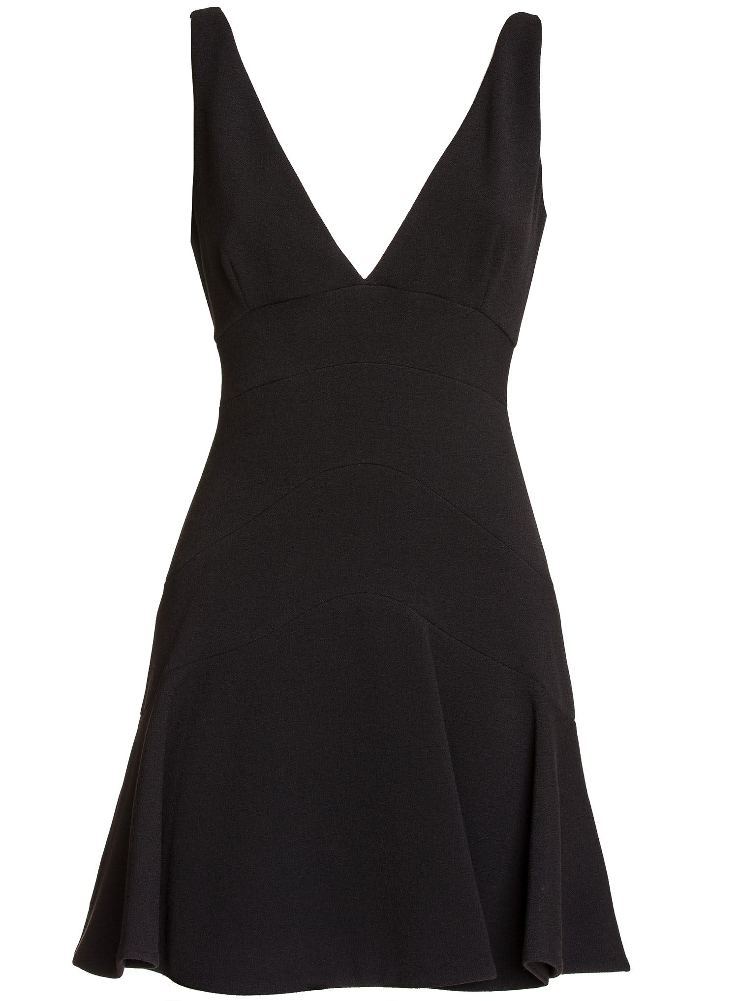 Buy Dsquared2 A-line Short Dress In Black online, shop Dsquared2 with free shipping