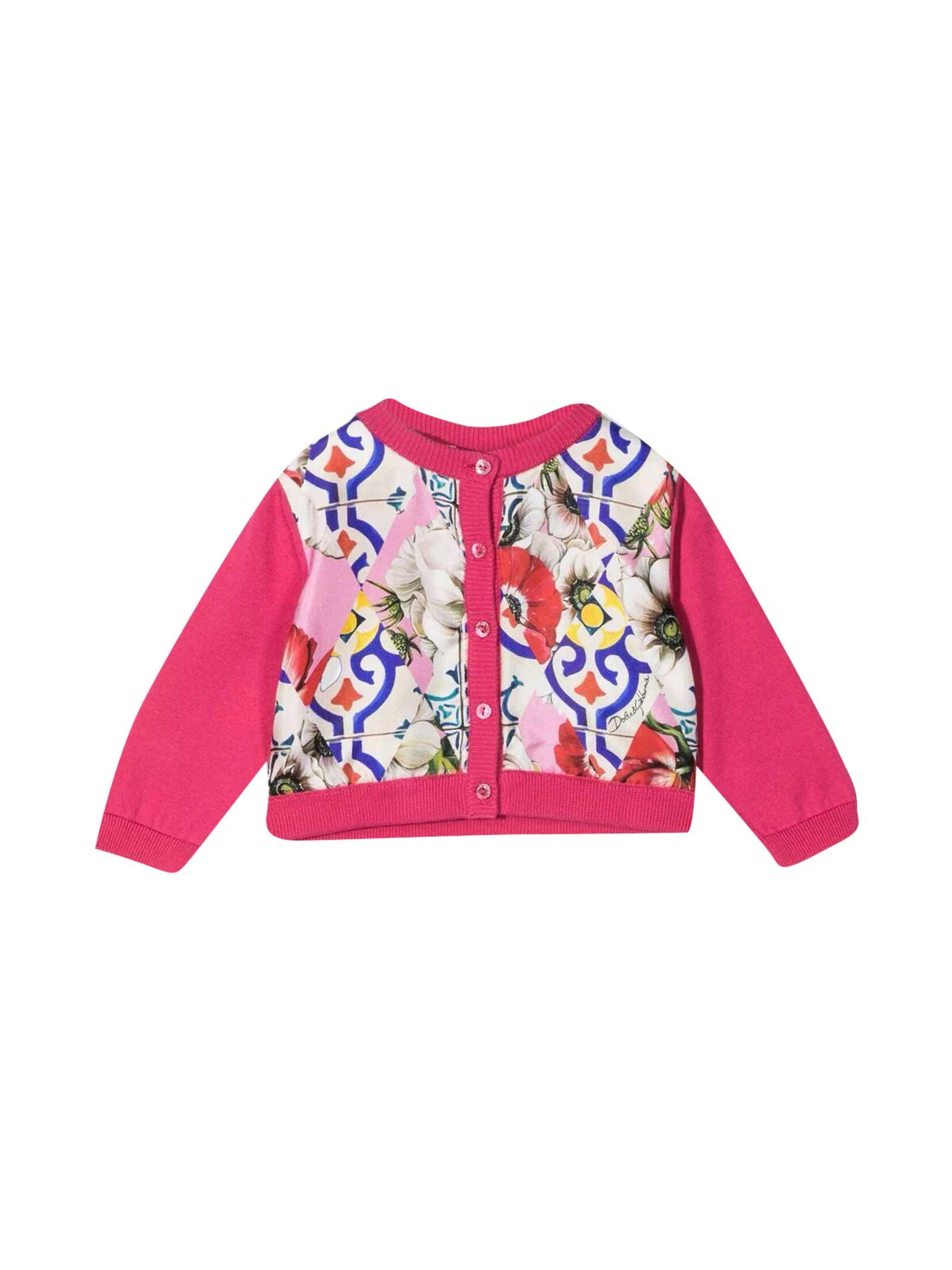 Dolce & Gabbana Cottons FUCHSIA CARDIGAN