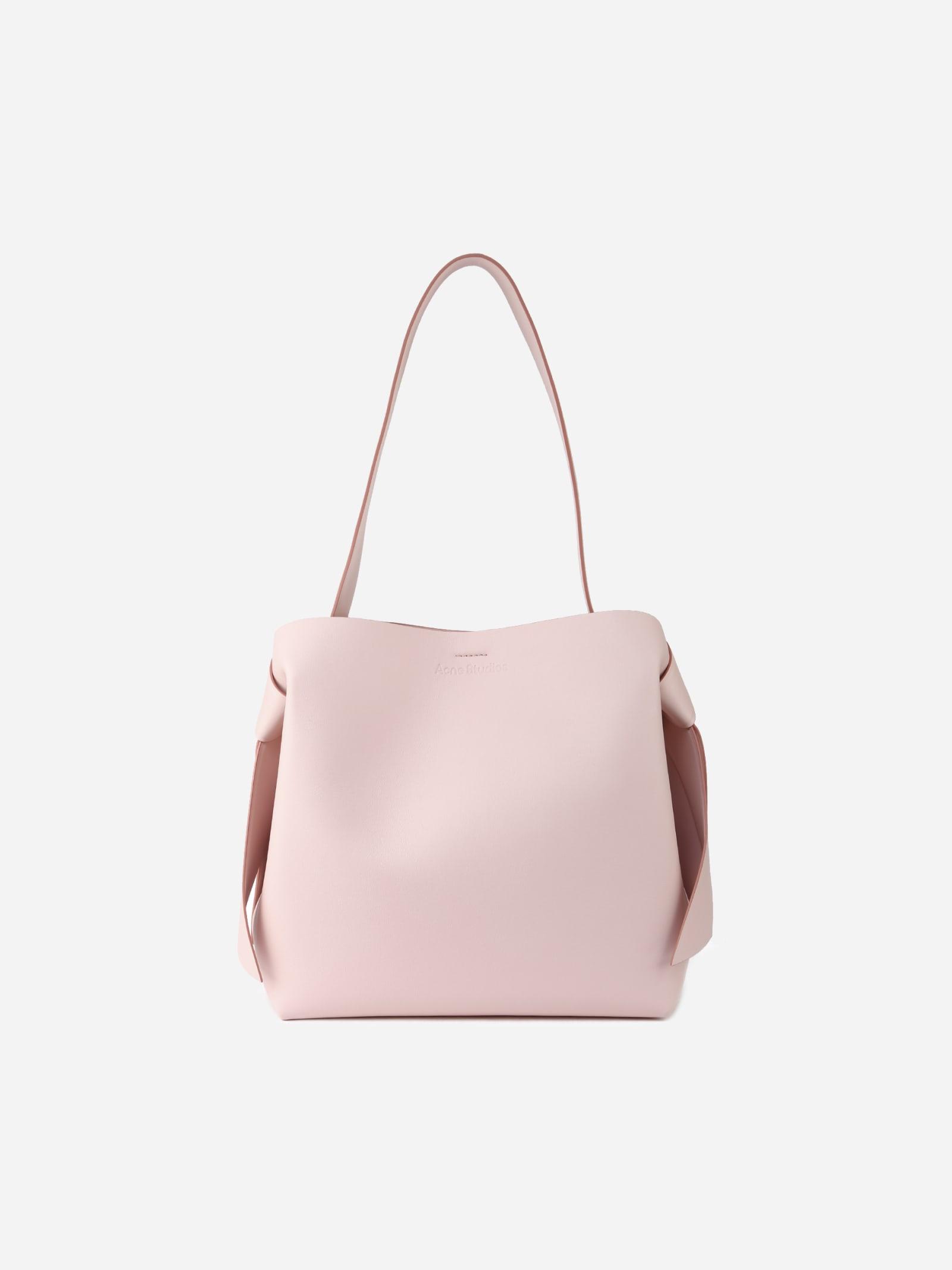Acne Studios Musubi Shoulder Bag In Leather