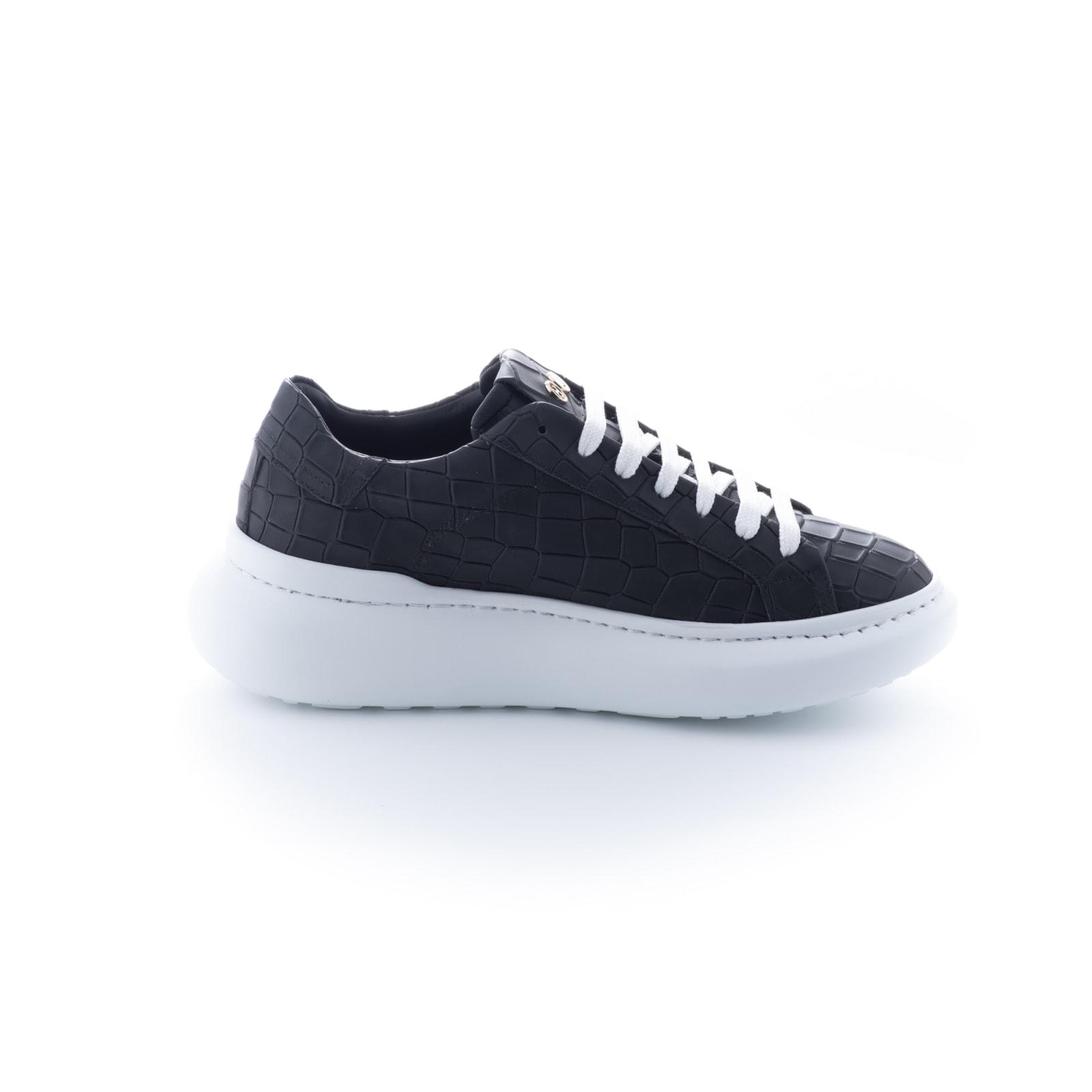 Hide & Jack Bounce White Black Sneakers