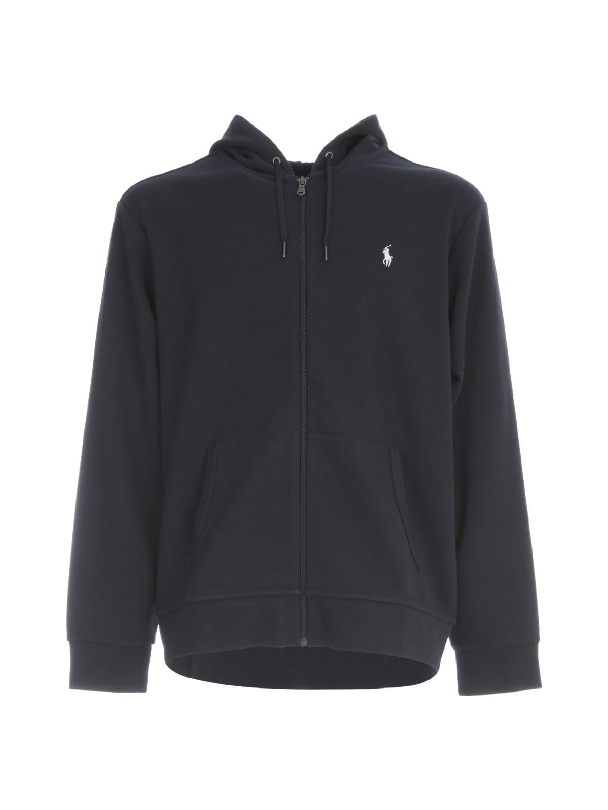 Polo Ralph Lauren Double Knit Tech Long Zipped Sweatshirt