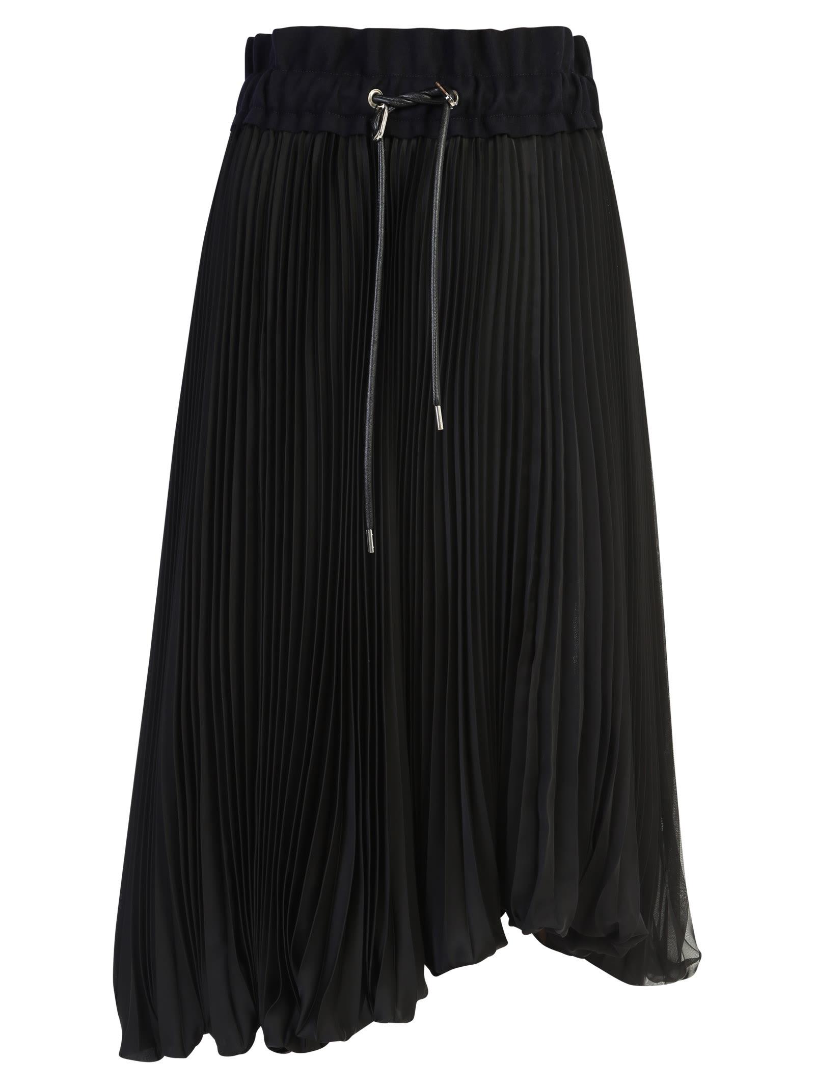Sacai Skirts PLEATED SKIRT