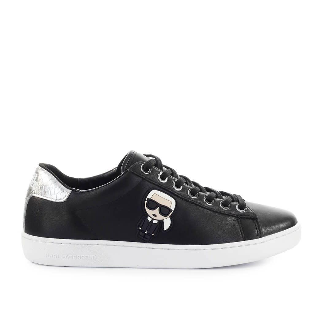 Karl Lagerfeld K/ikonik Kupsole Ii Black Sneaker