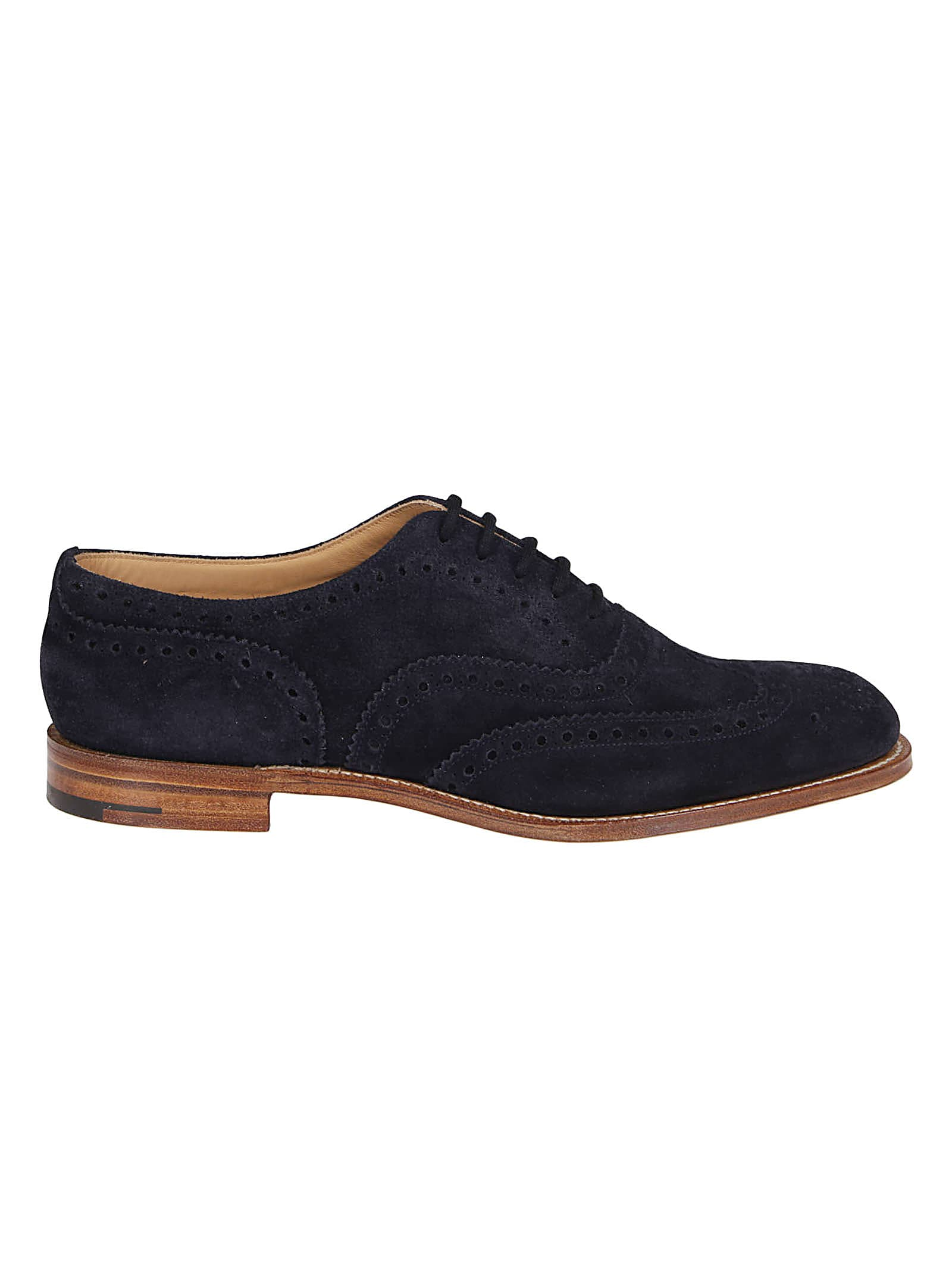 Church's NAVY LEATHER DUXFORD BROGUES