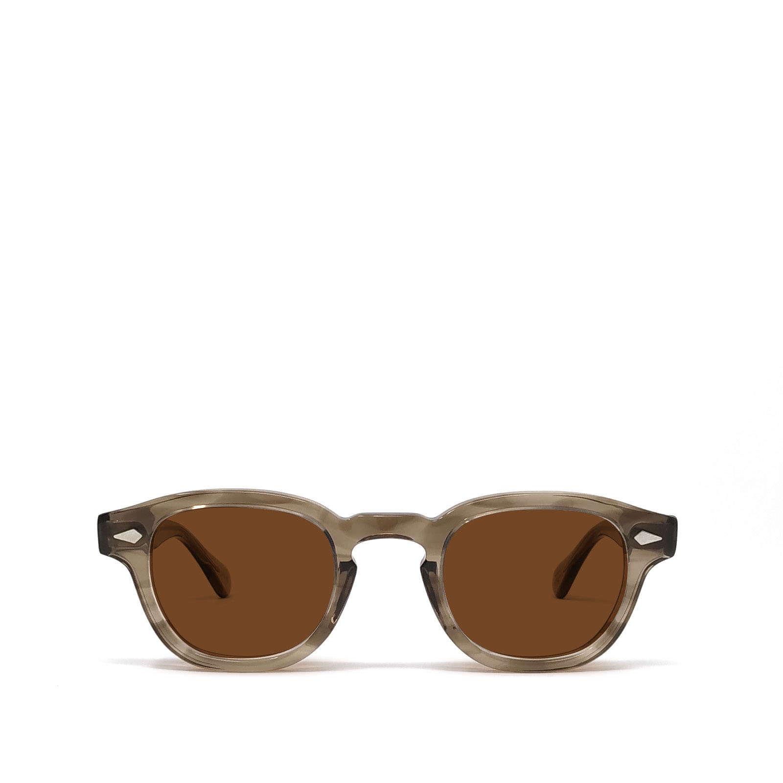 Moscot Moscot Lemtosh Brown Ash Sunglasses