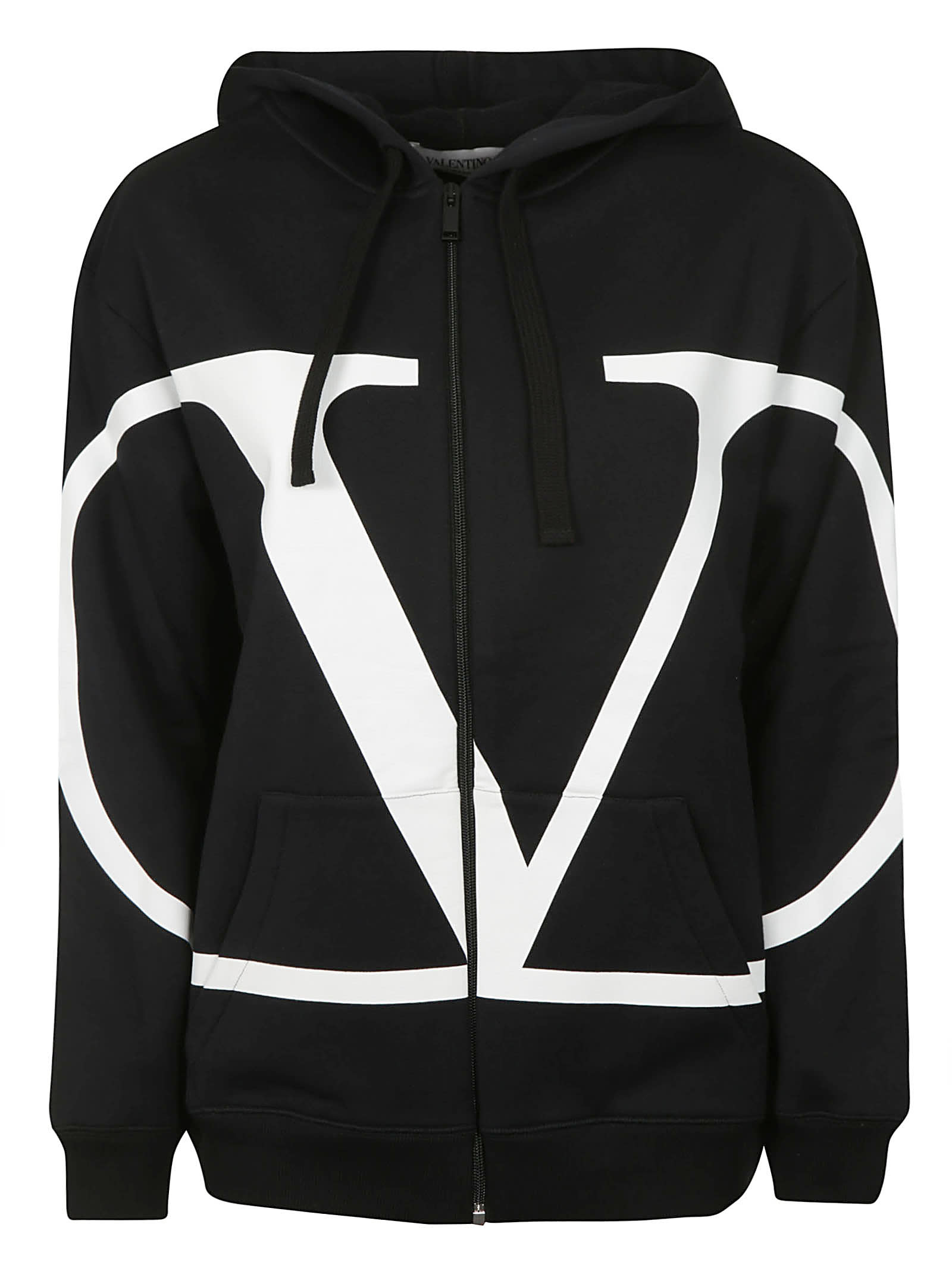 Photo of  Valentino Hooded Zipped Jacket- shop Valentino jackets online sales