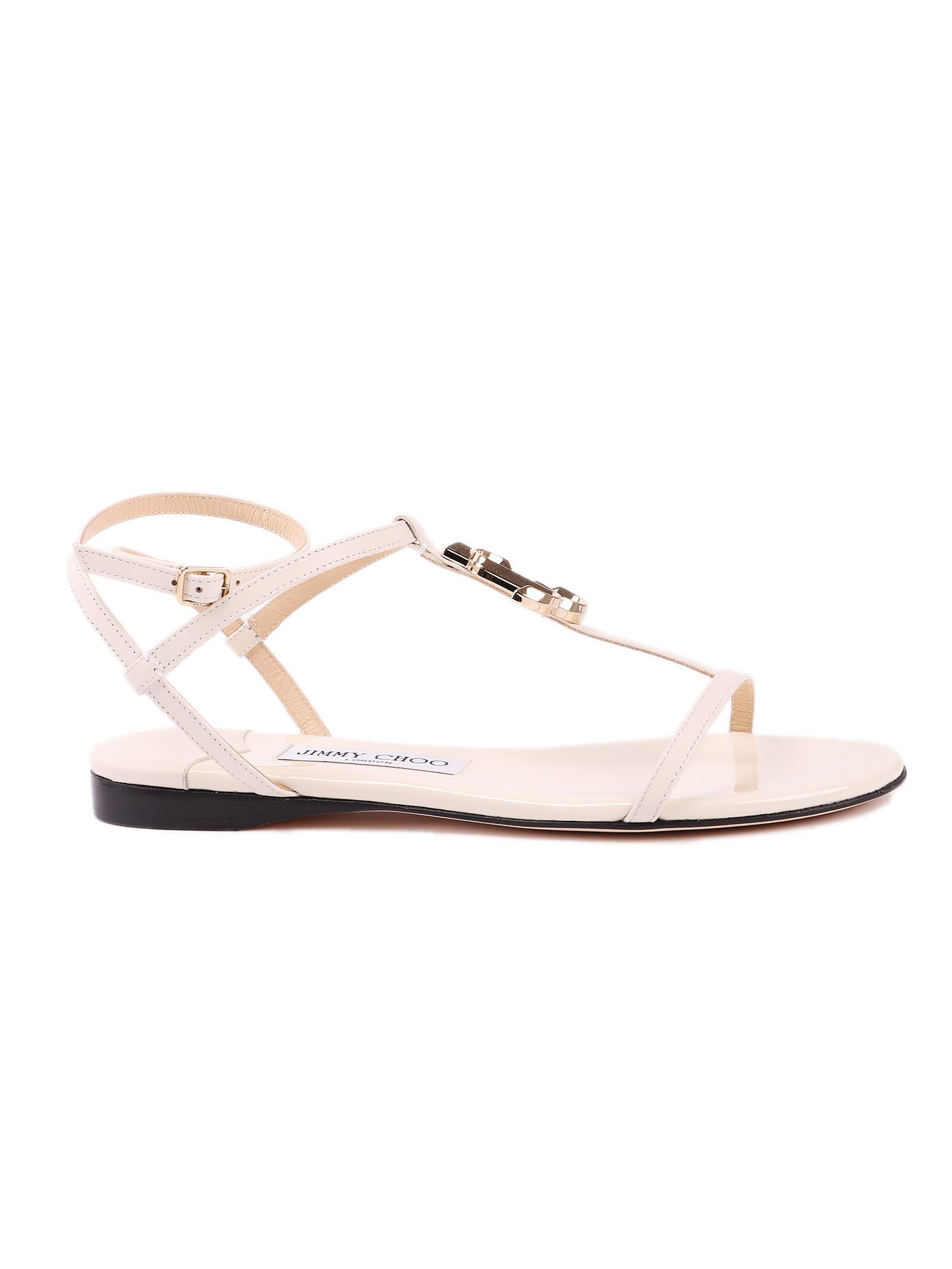 Jimmy Choo Sandal Flat Nappa Patent