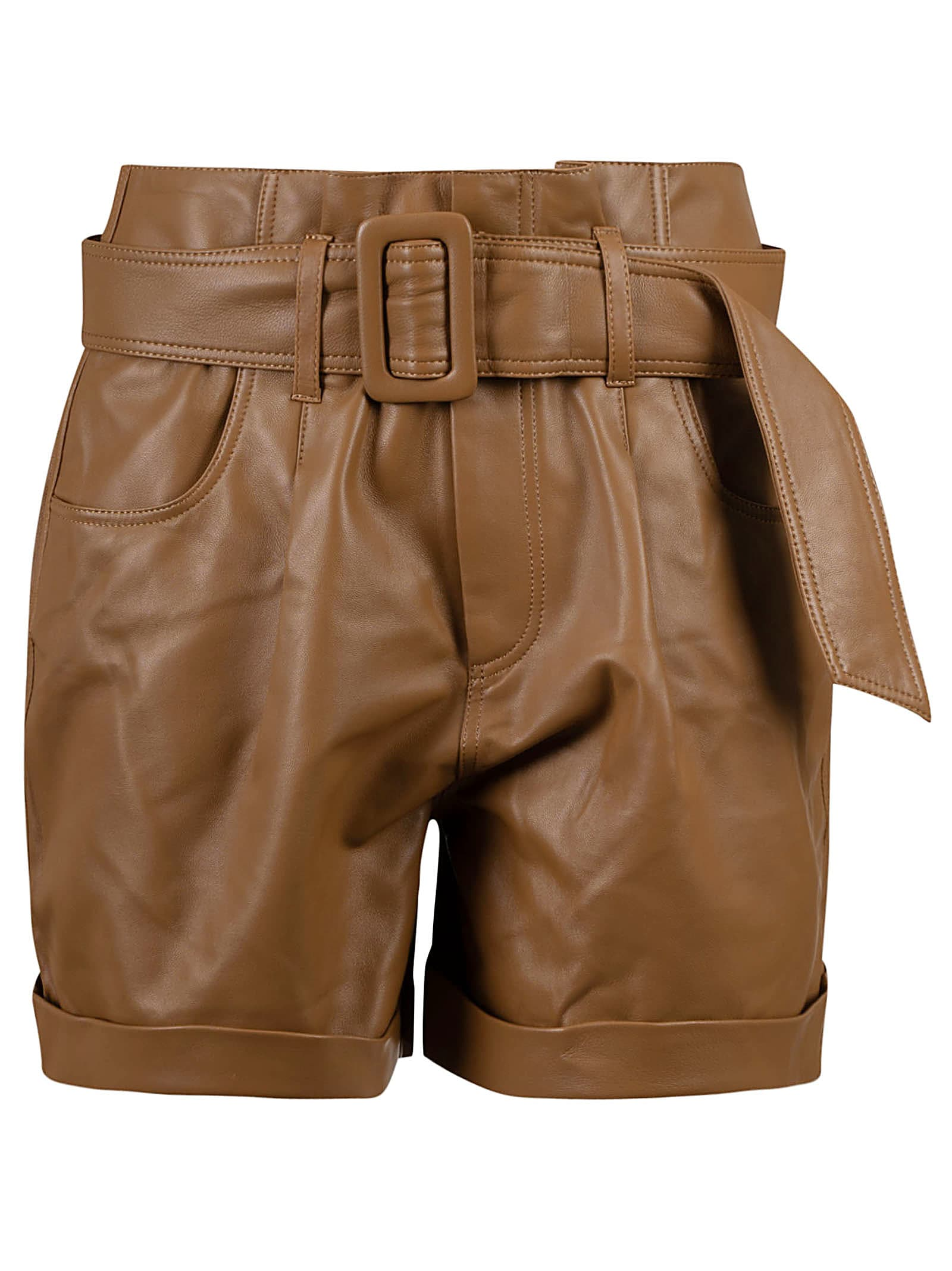 Federica Tosi Clothing BELTED SHORTS
