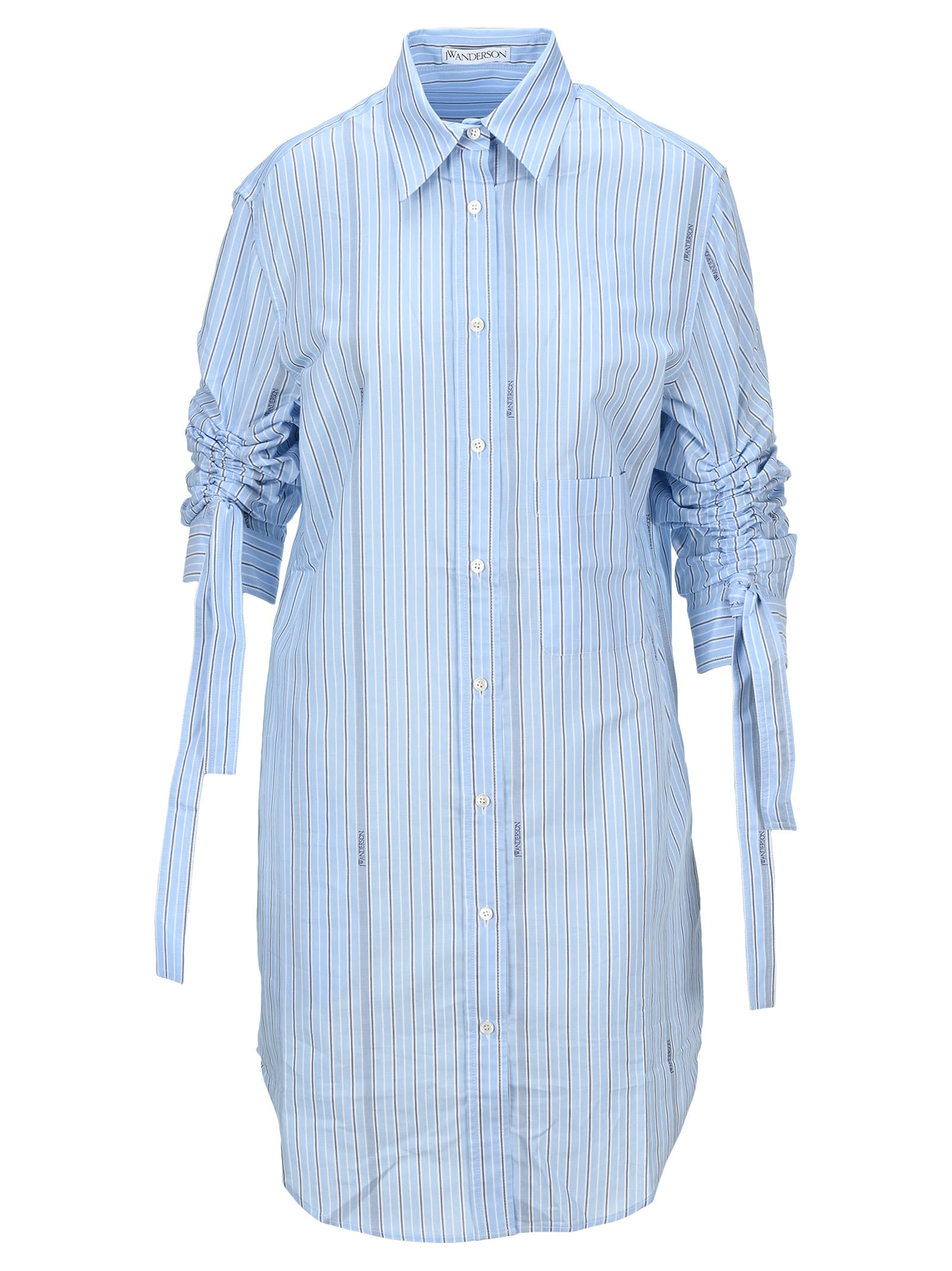 Buy J.W. Anderson Jw Anderson Striped Shirt-style Dress online, shop J.W. Anderson with free shipping