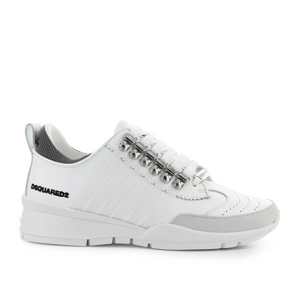 Dsquared2 251 WHITE TRANSPARENT SNEAKER