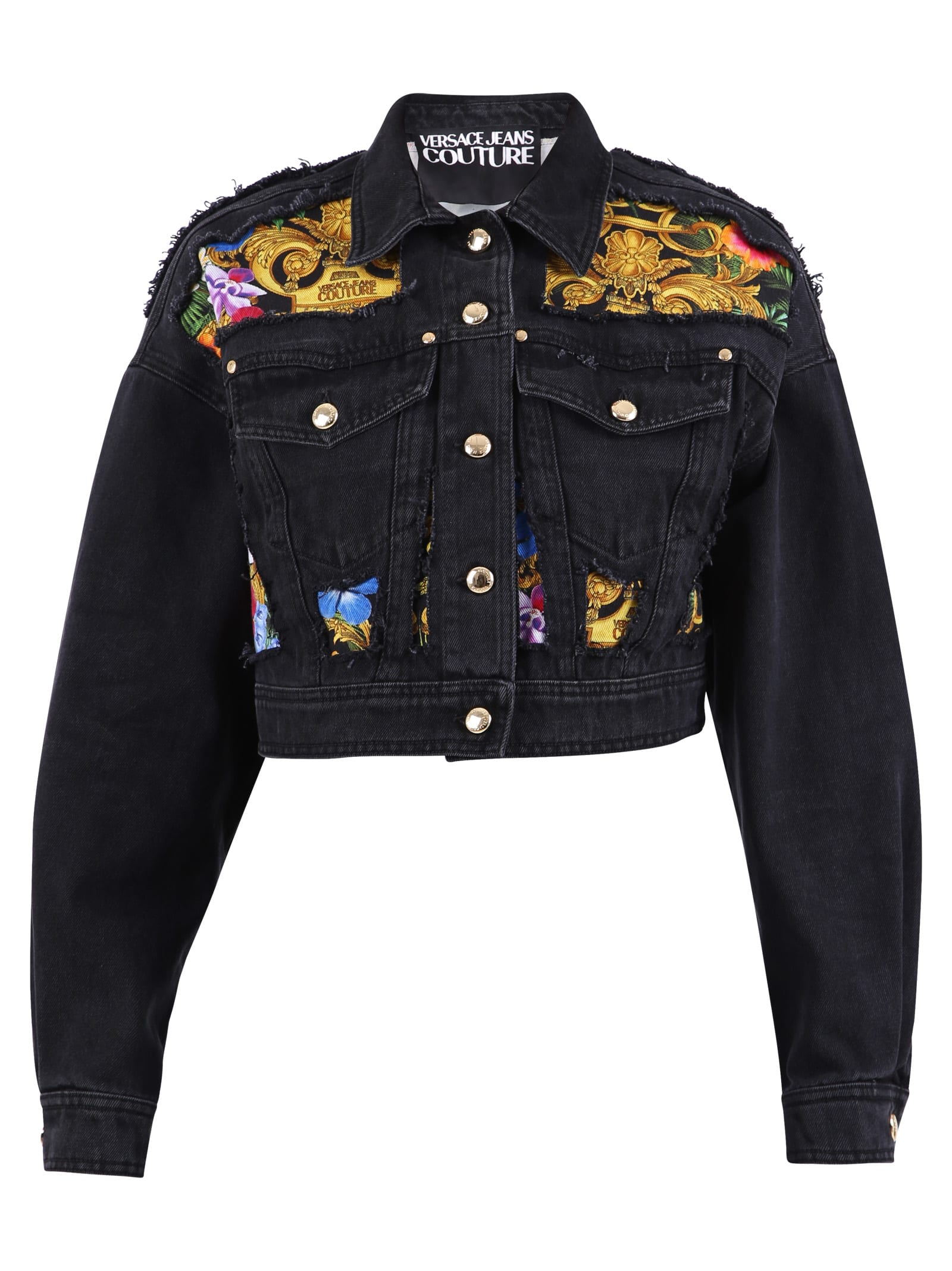 Versace Jeans Couture Cropped Jacket