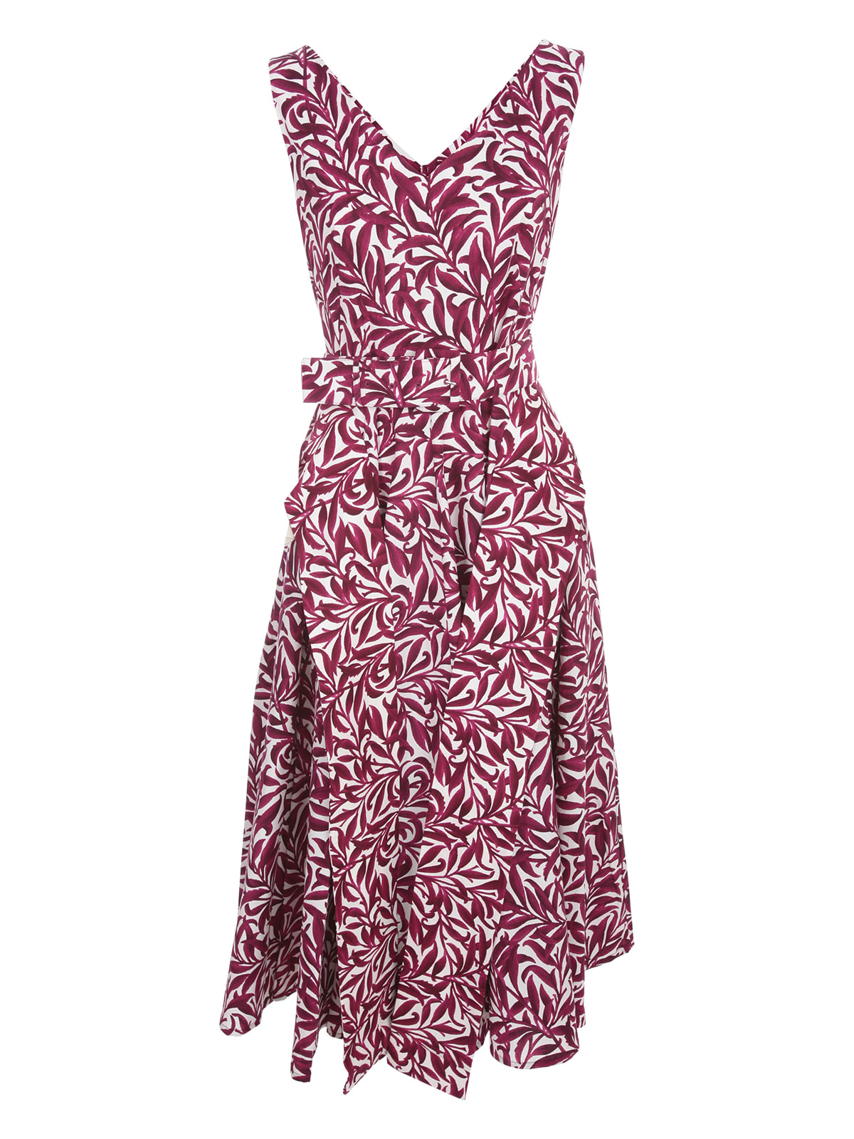 Buy Samantha Sung Aster Cs Midi Dress S/s Boat Neck online, shop Samantha Sung with free shipping