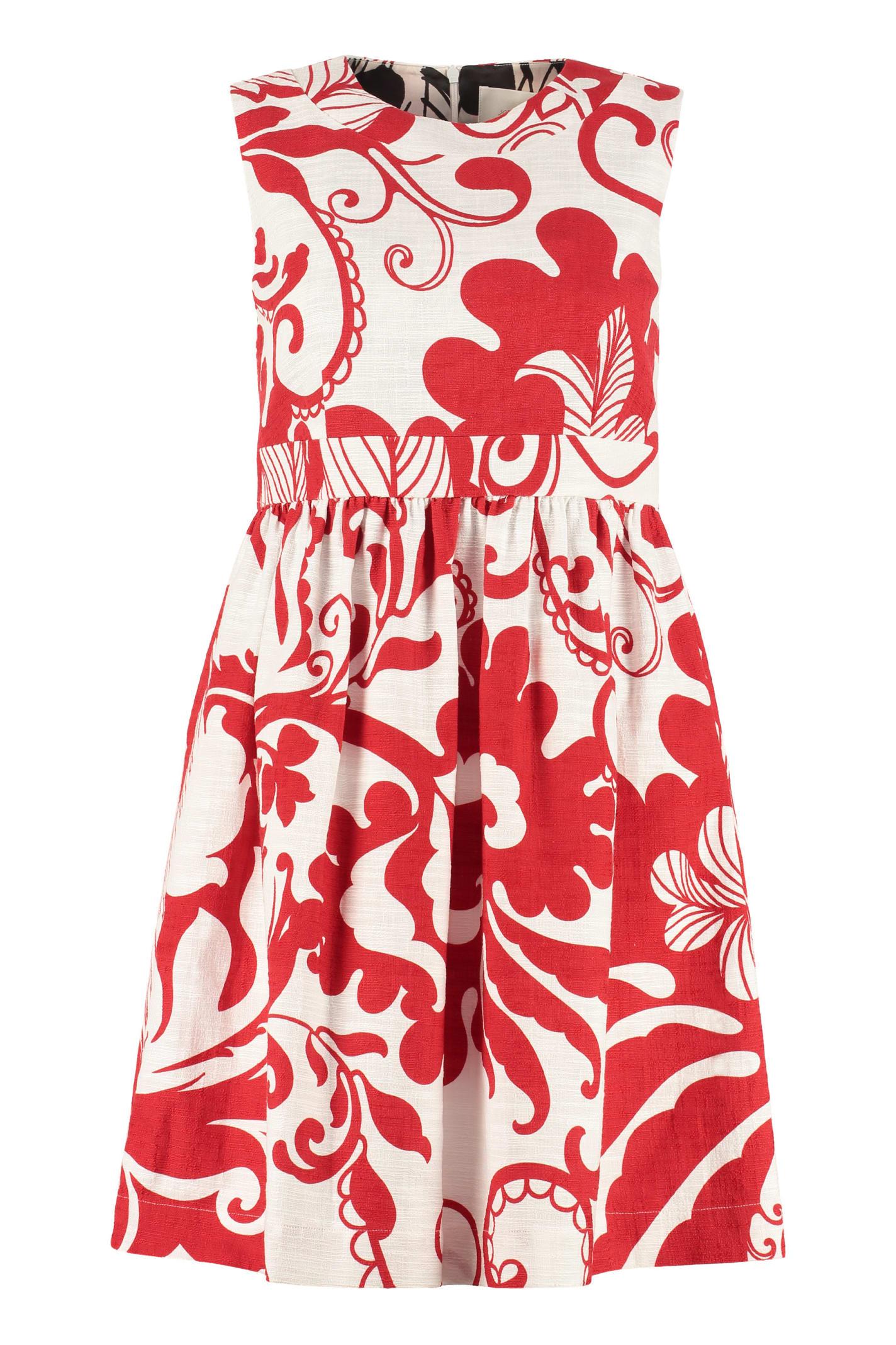 Buy La DoubleJ Jackie Printed Cotton Dress online, shop La DoubleJ with free shipping