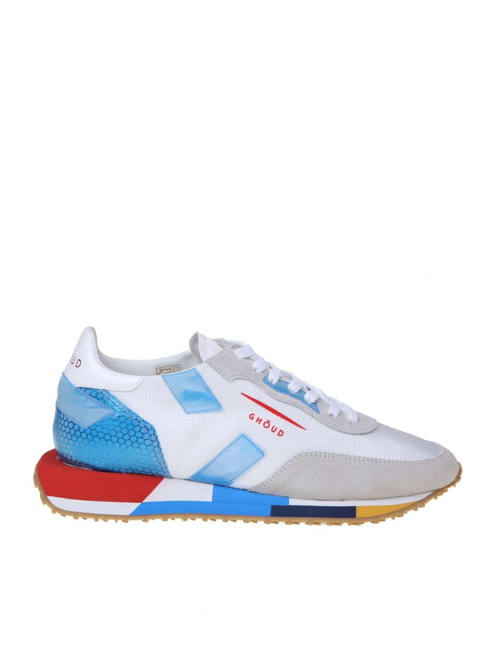 Ghoud Rush Sneakers In White Fabric