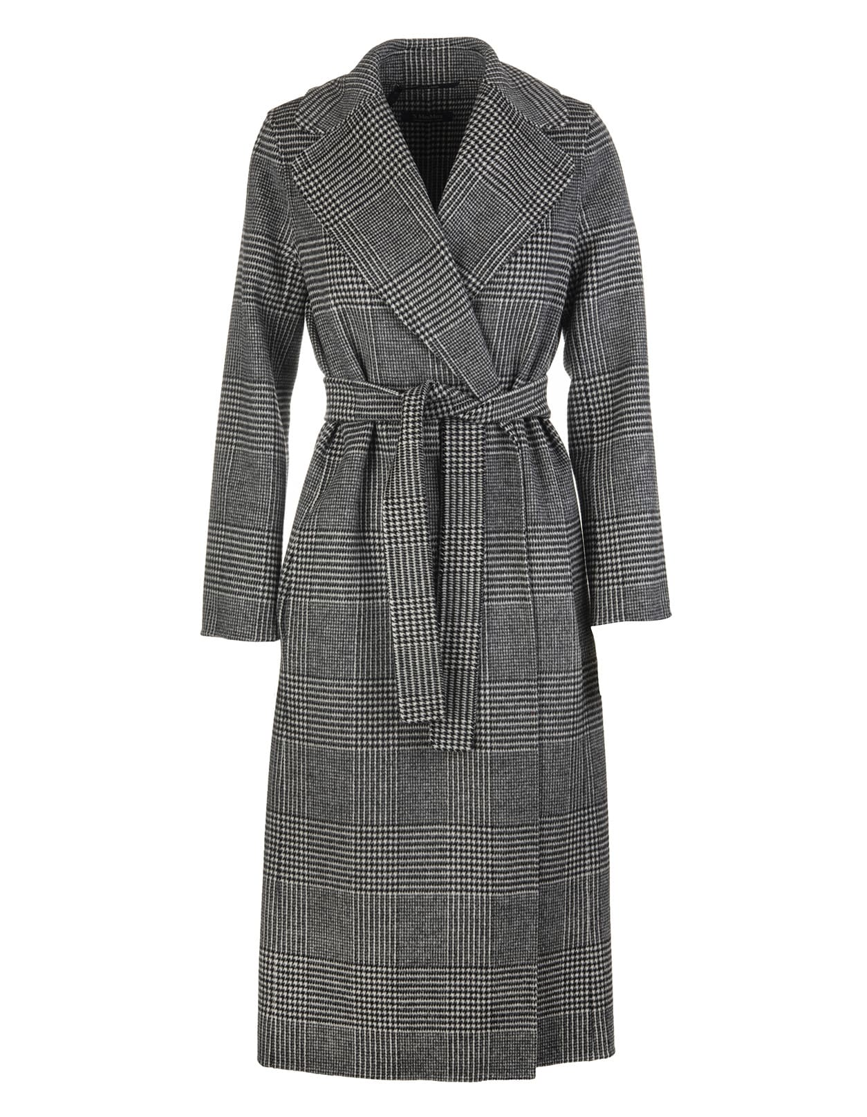 Prince Of Wales Wool Fiorito Coat