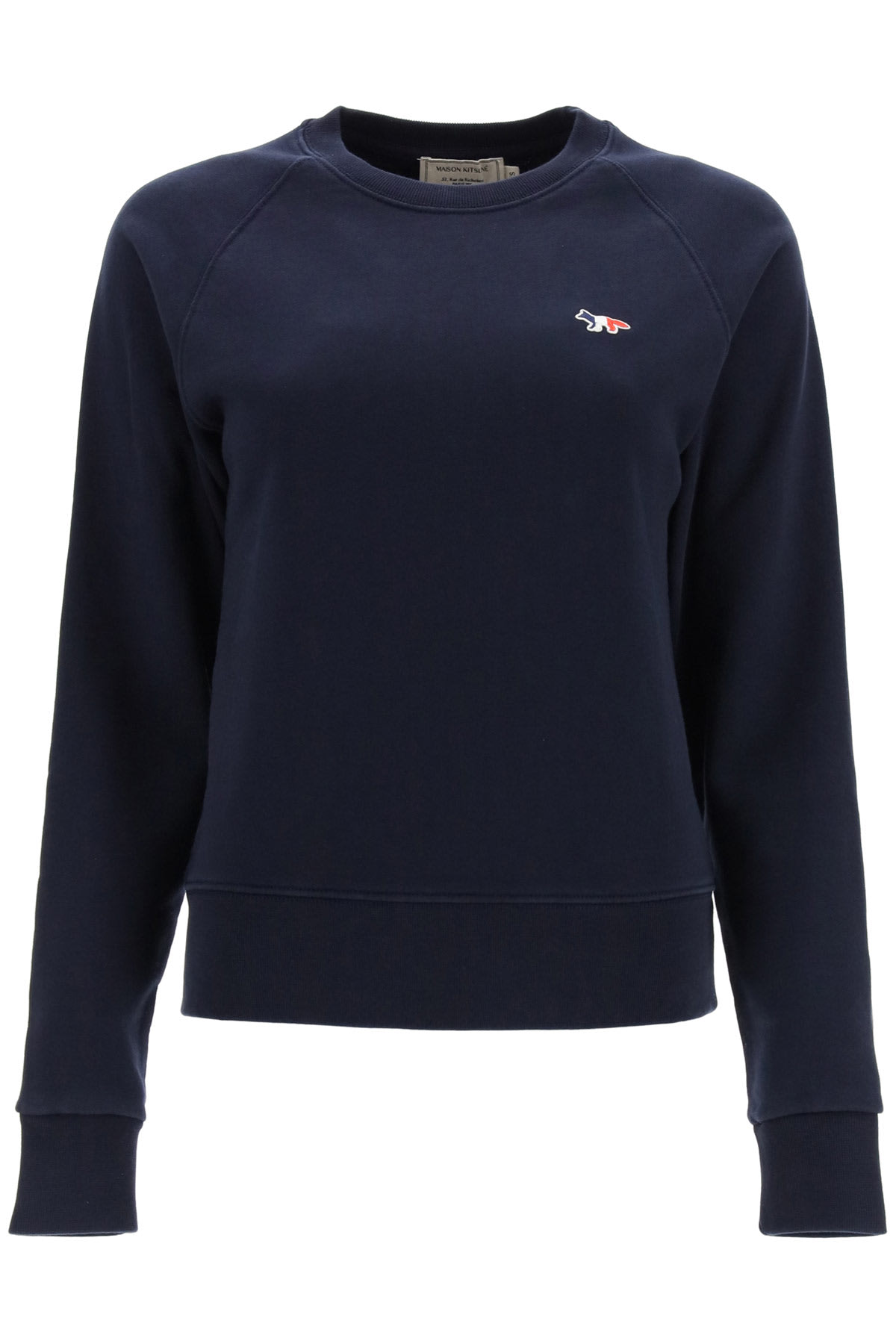 Maison Kitsuné TRICOLOR FOX PATCH SWEATSHIRT