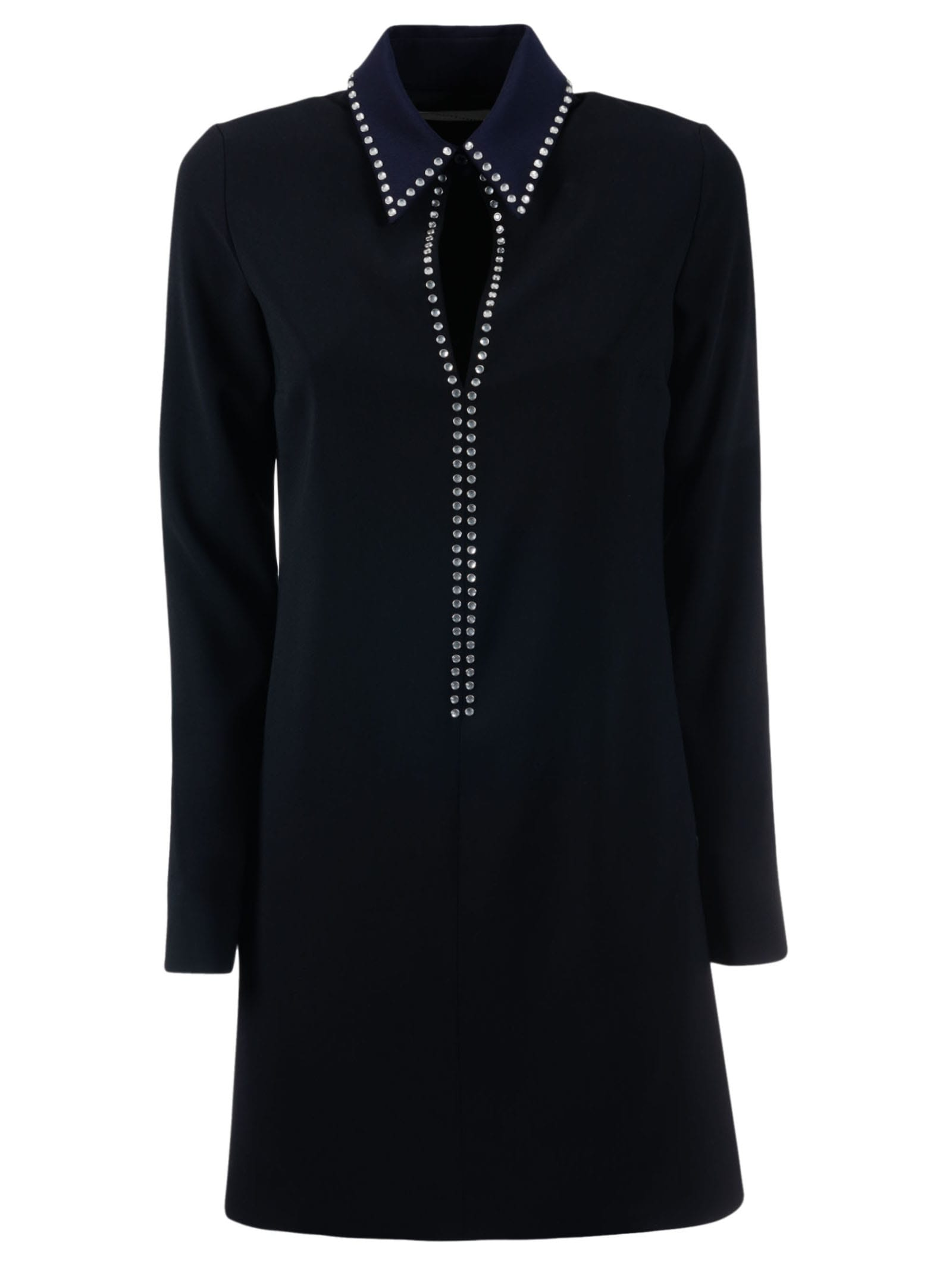Photo of  Victoria Beckham Open Front Shift Dress- shop Victoria Beckham  online sales