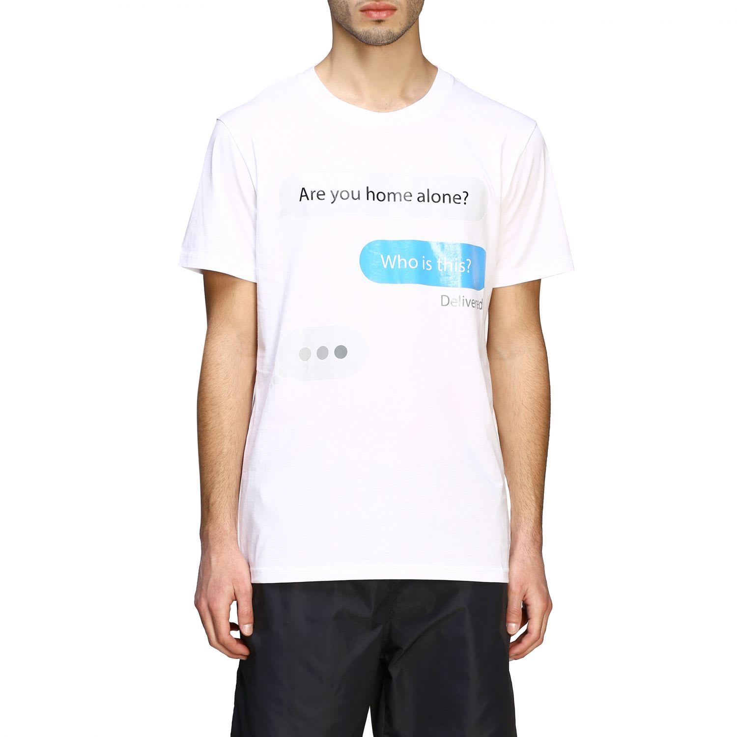 Moschino Couture T-shirt Moschino Couture Short-sleeved T-shirt With I Message Print
