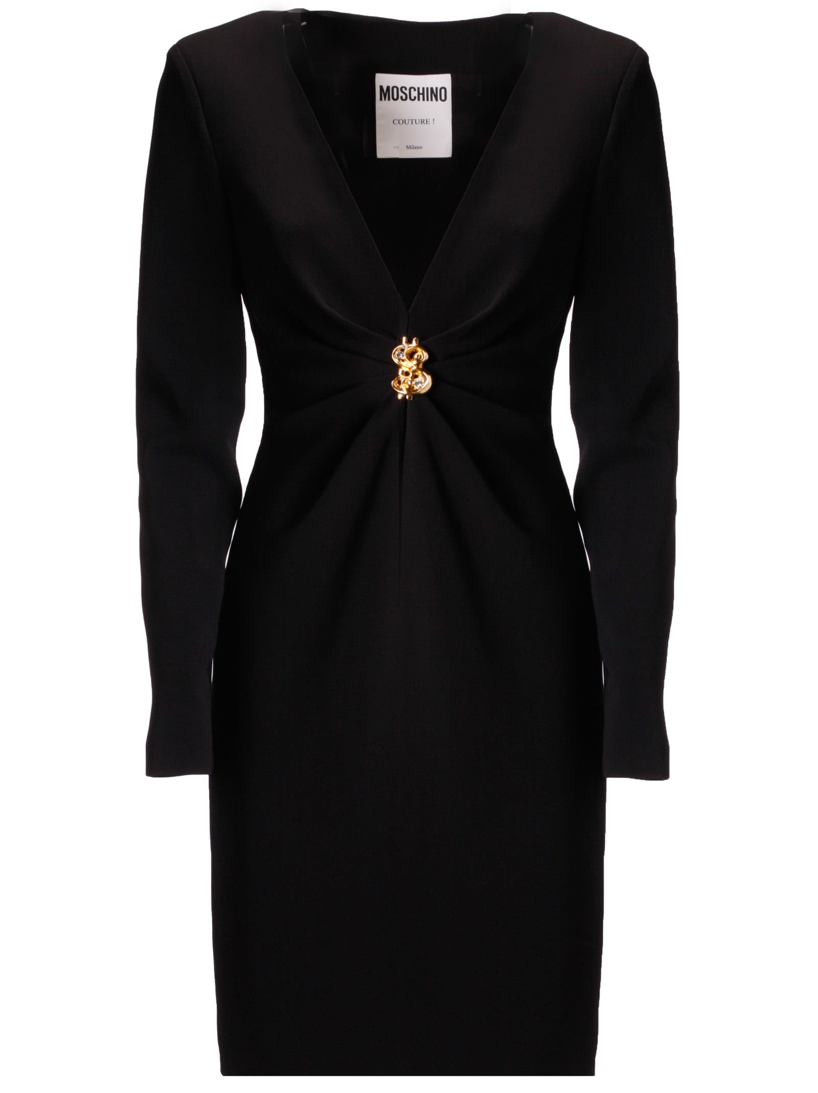Moschino Ruched Dress