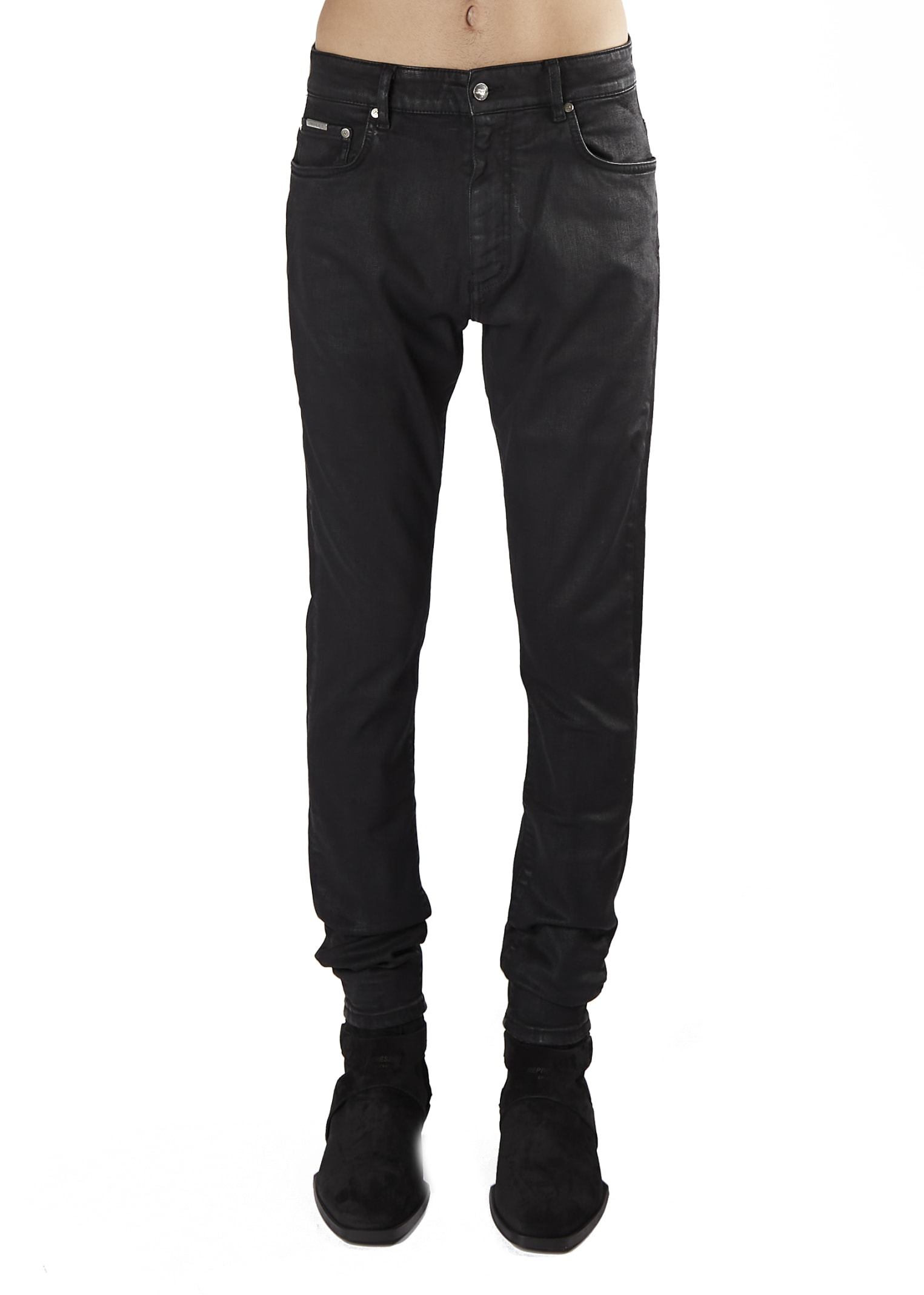 REPRESENT Essential Mid-rise Skinny Jeans
