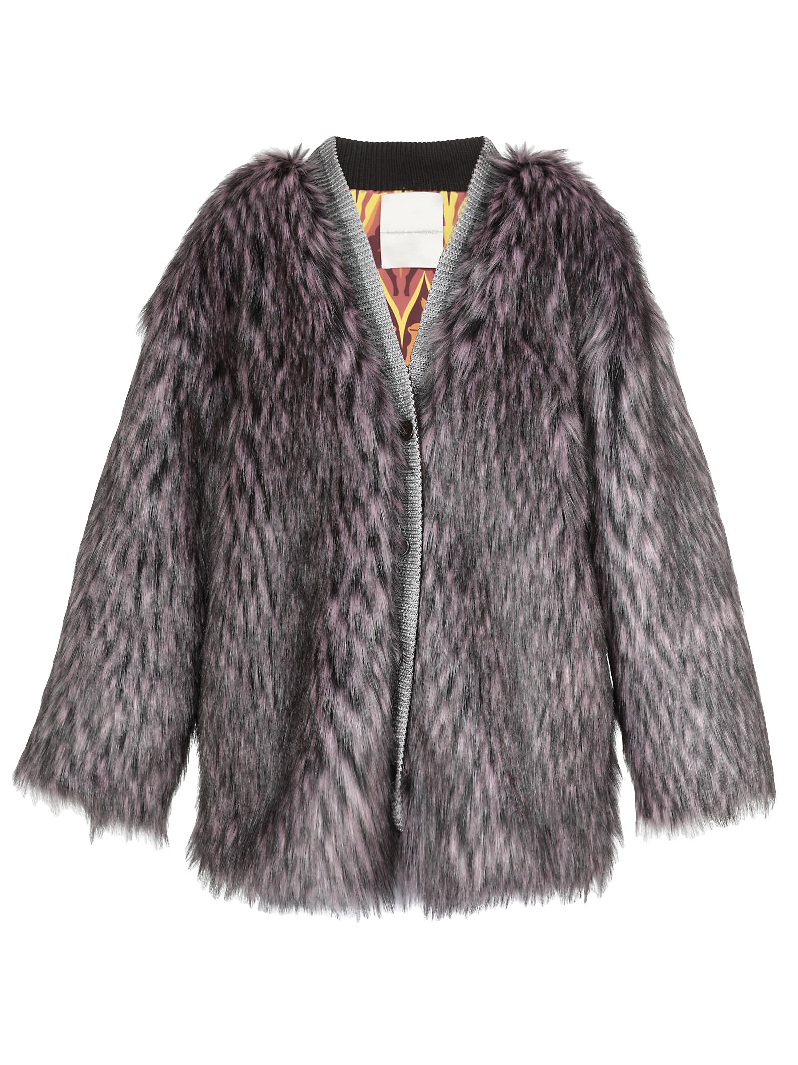 Marco de Vincenzo Eco-fur Cardigan