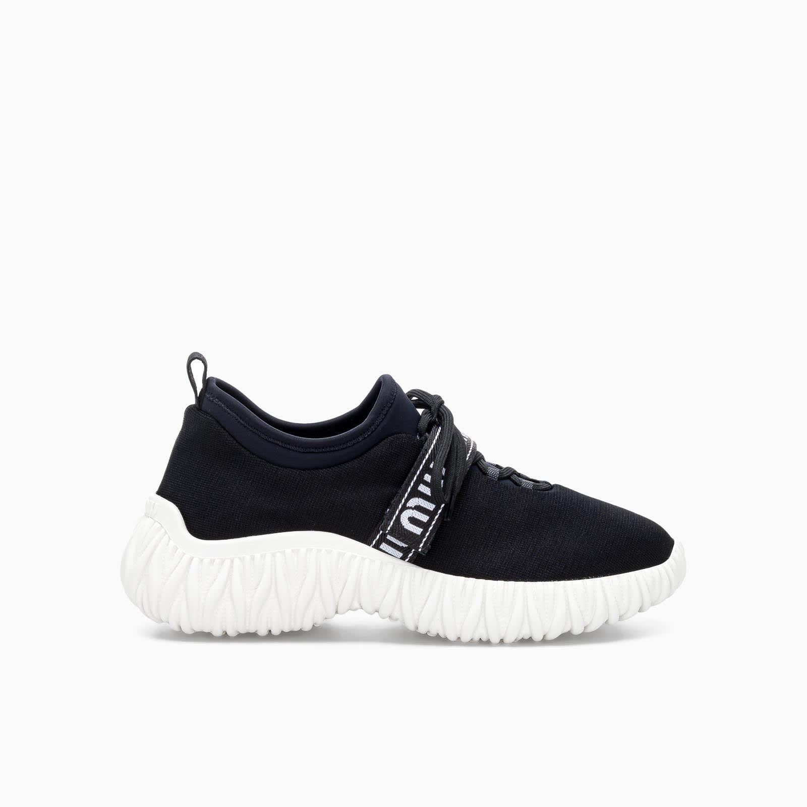 Miu Miu STRETCH KNIT SNEAKERS