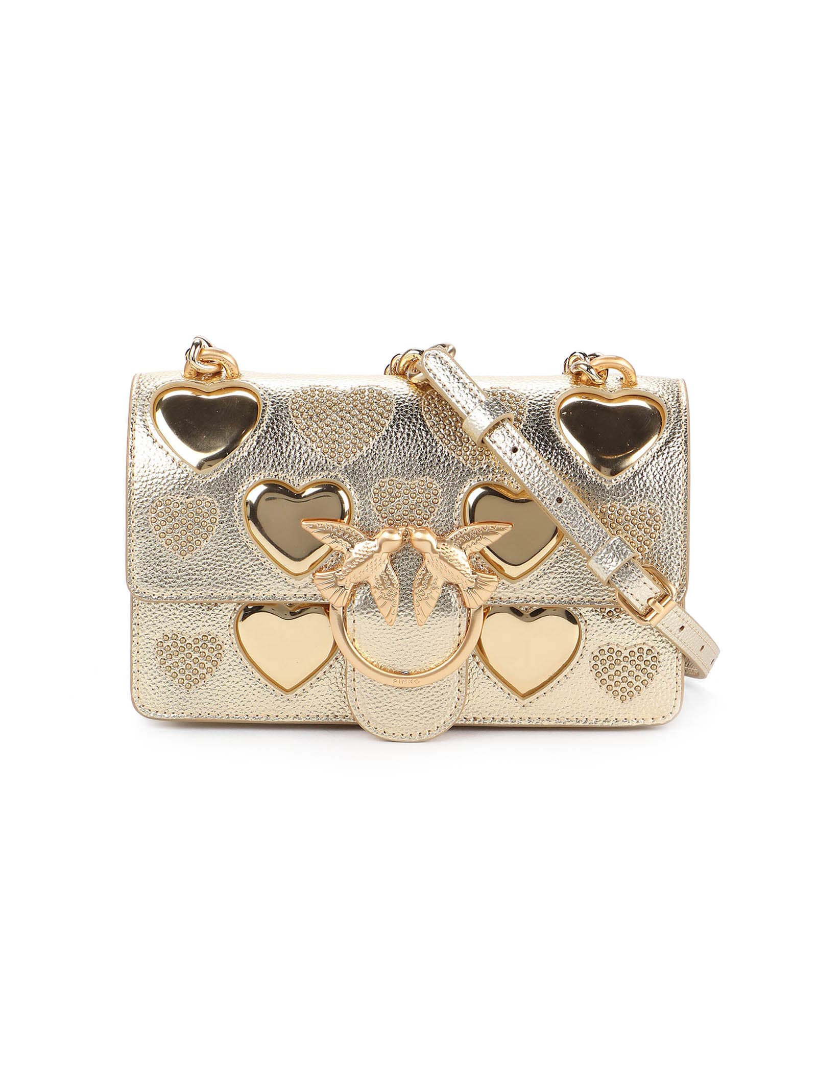 Pinko Love Mini Icon Studded Heart C