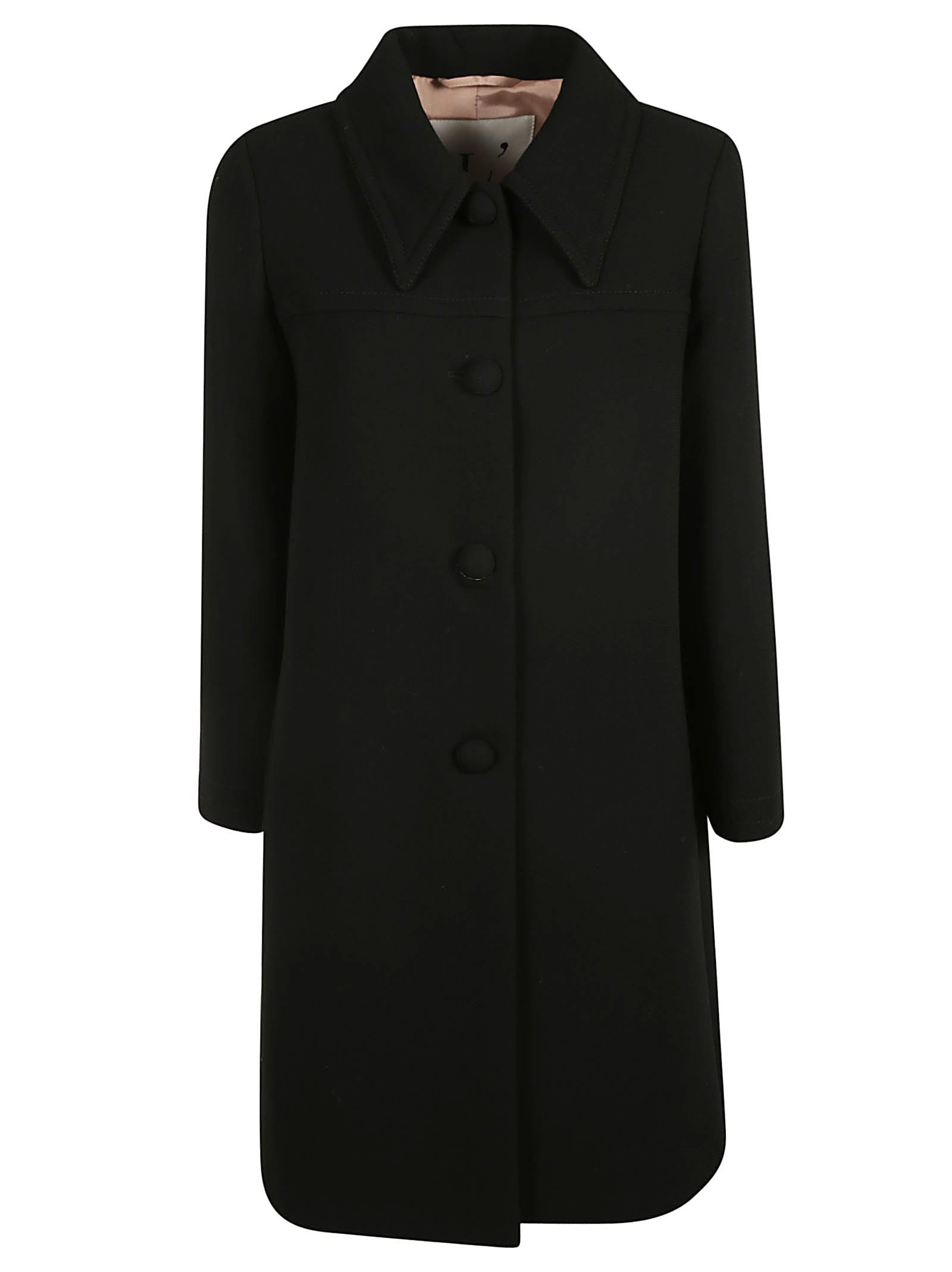 LAutre Chose Single Breasted Classic Long Coat