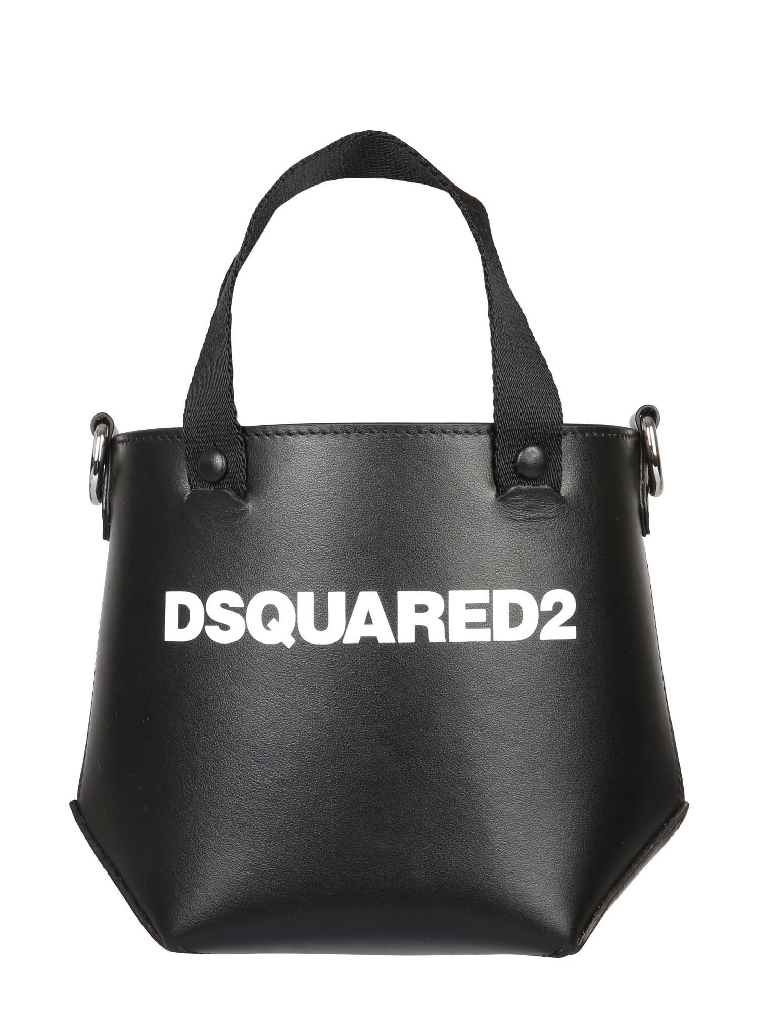 Dsquared2 MINI TOTE BAG WITH LOGO