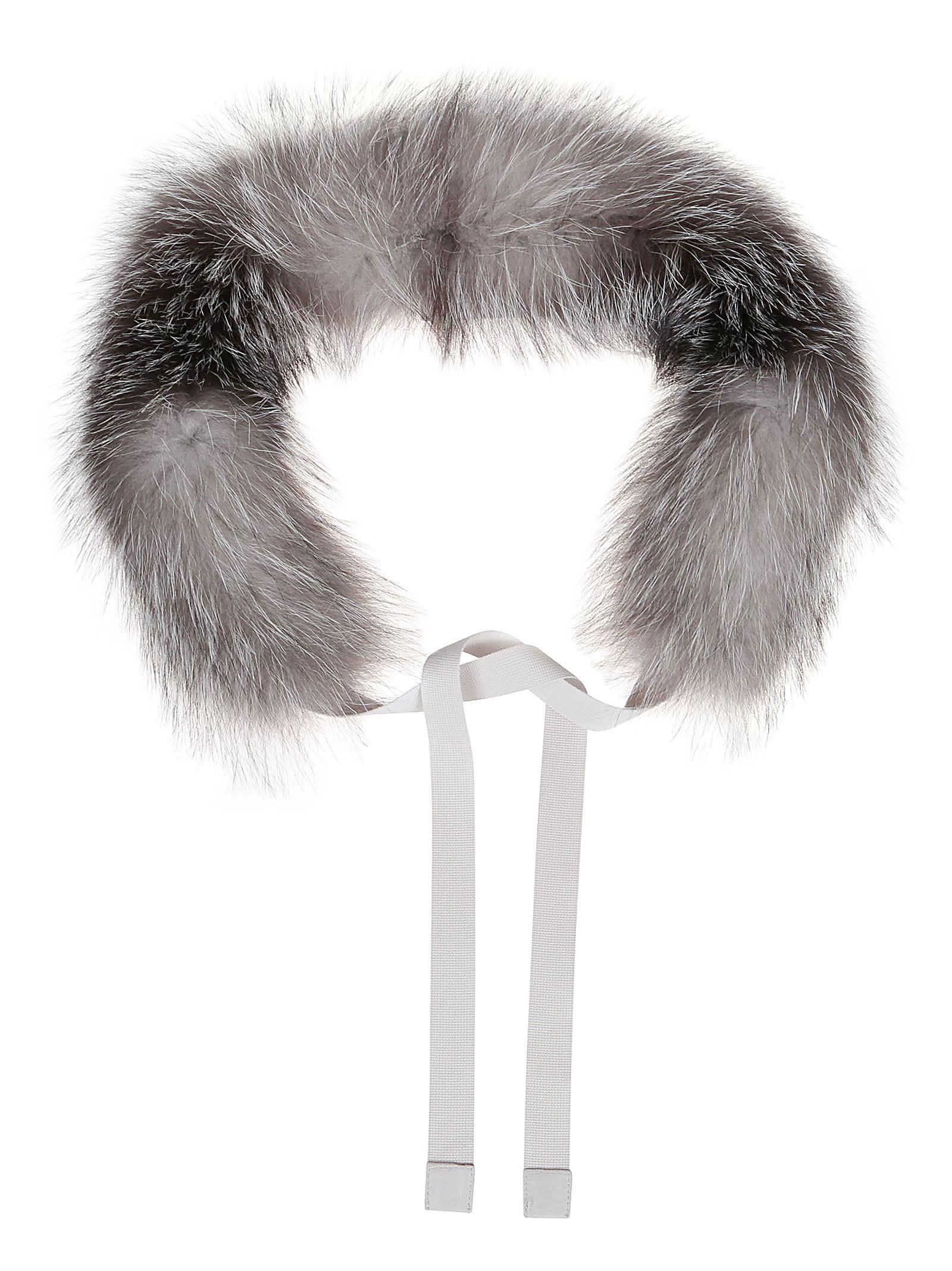 Collar Edging In Fox Fur