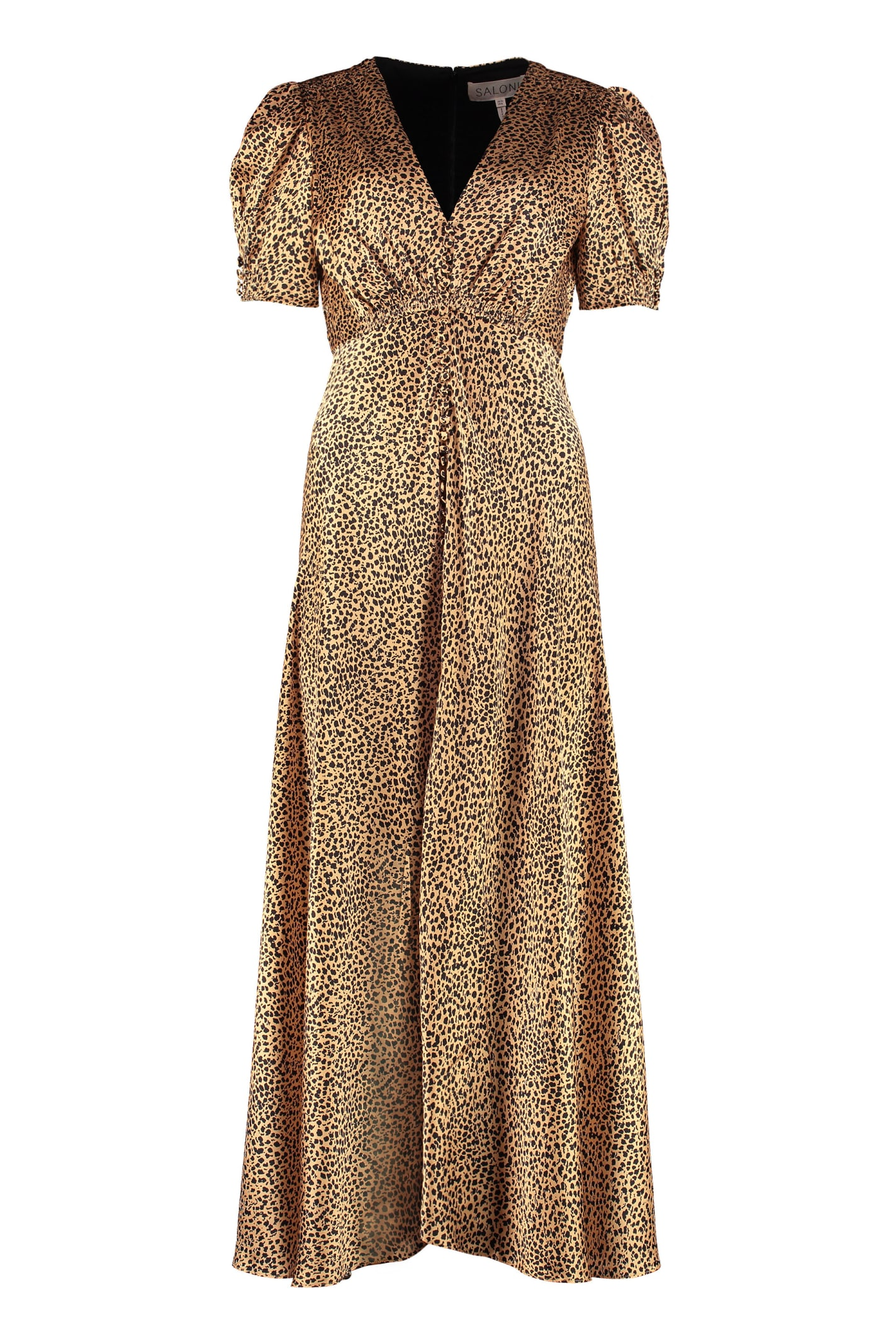 Buy Saloni Lea Printed Maxi Dress online, shop Saloni with free shipping