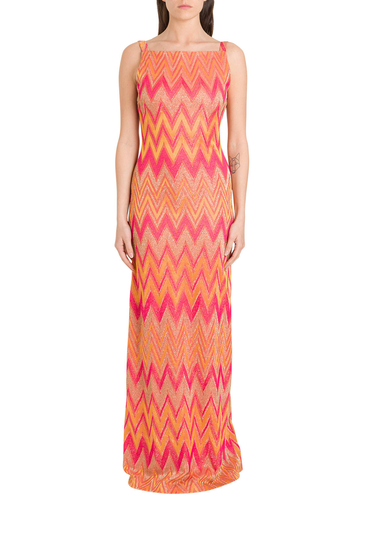 Buy M Missoni Lurex Knit Dress online, shop M Missoni with free shipping
