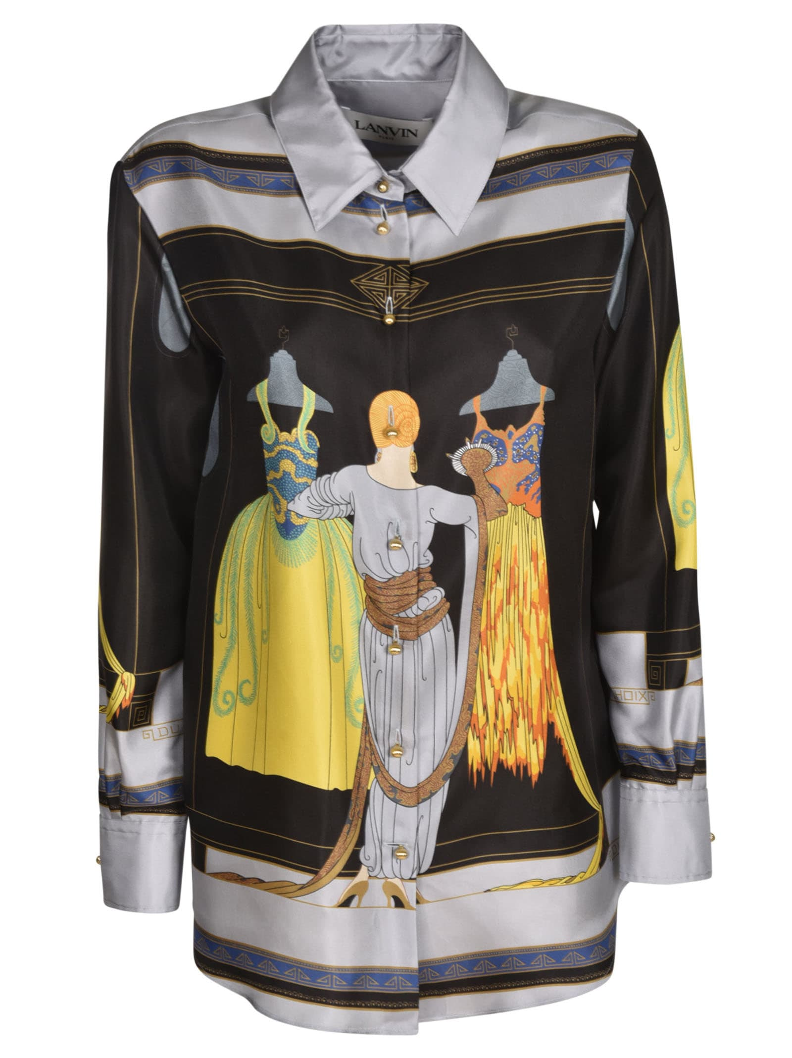 Lanvin Clothing PRINTED SHIRT