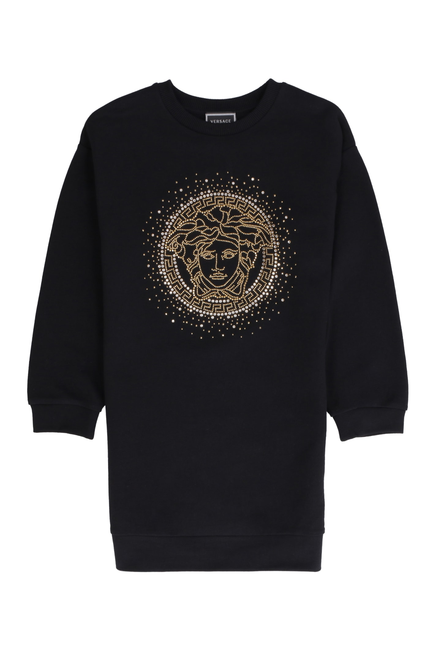 Buy Young Versace Cotton Sweatdress online, shop Young Versace with free shipping